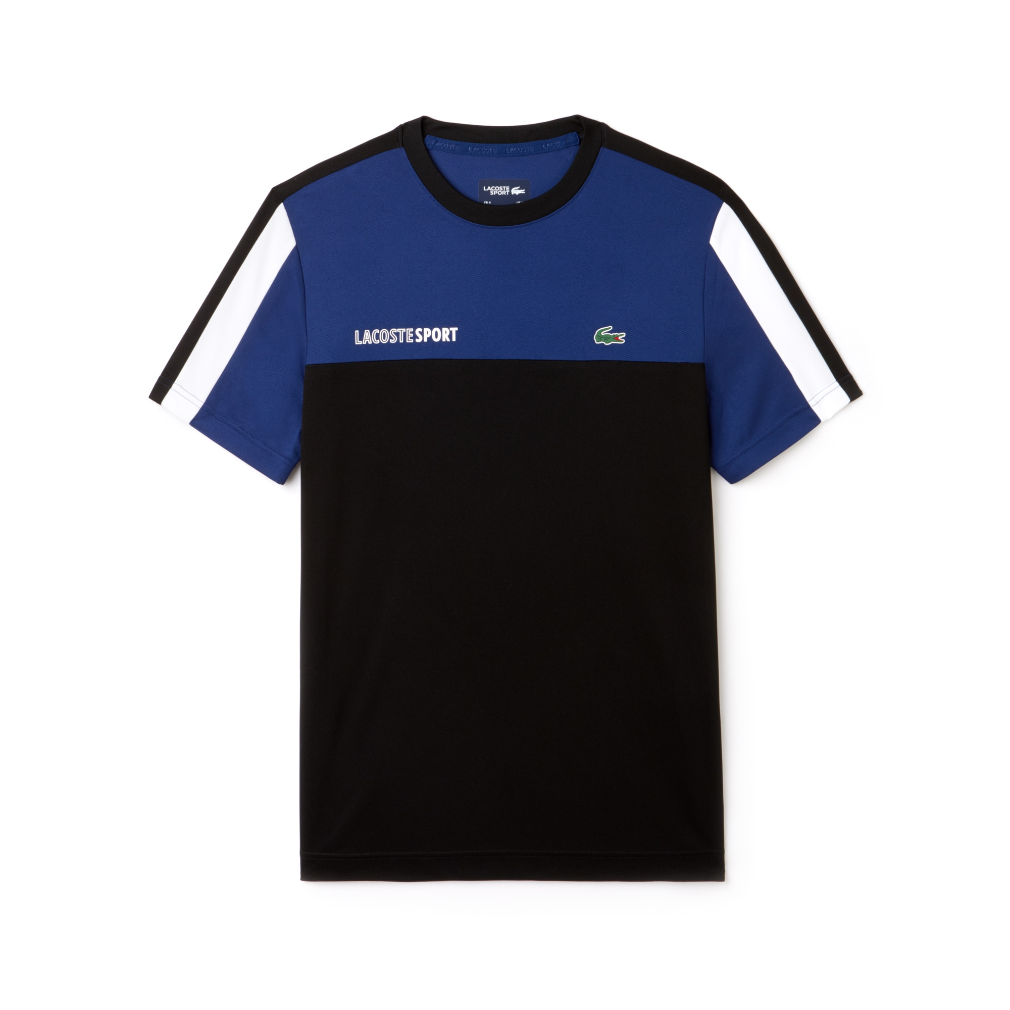 Men's SPORT Crew Neck Colorblock Piqué Tennis T-shirt