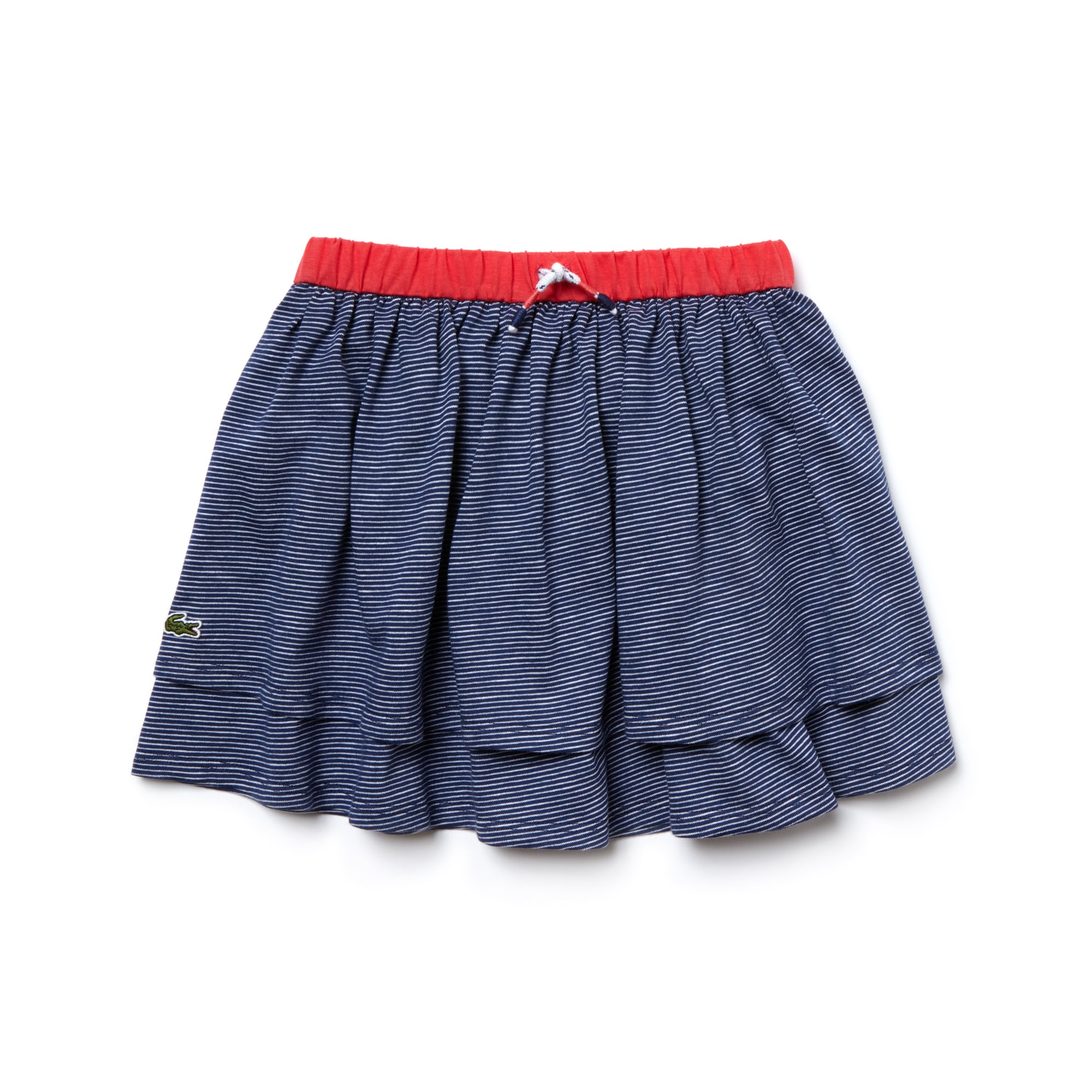 Kid's Striped Jacquard Skirt