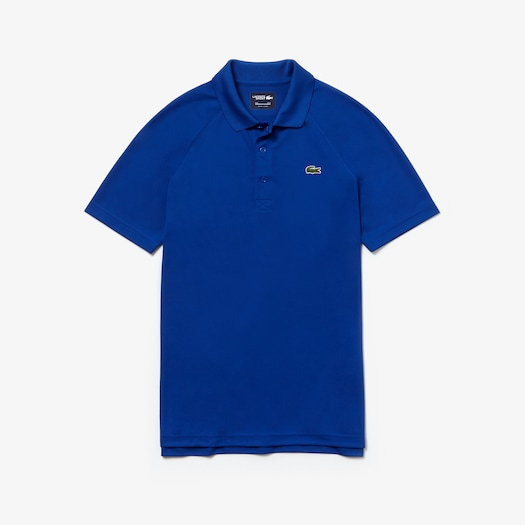 라코스테 Lacoste Mens SPORT Technical Pique Tennis Polo,Blue - S6N (Selected colour)