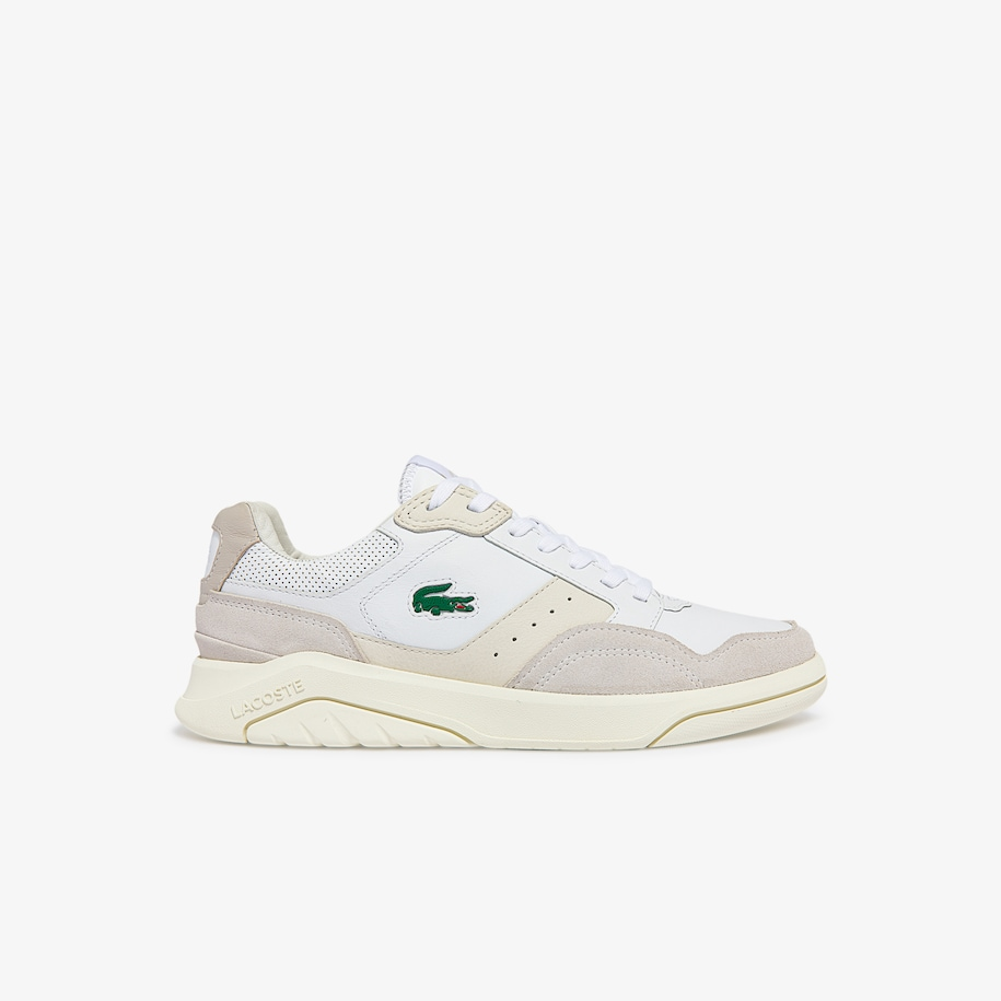 Men's Game Advance Luxe Leather and Suede Sneakers