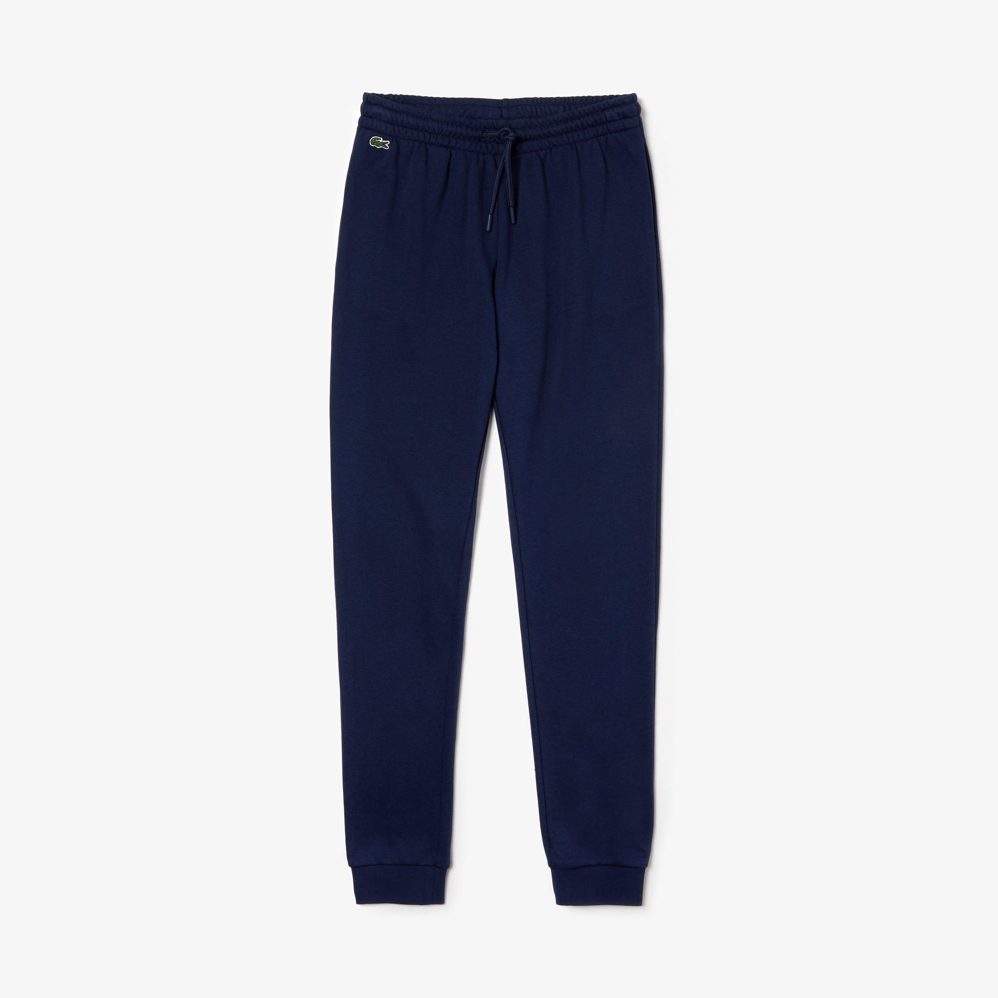 라코스테 스포츠 트랙 팬츠 Lacoste Womens SPORT Tennis Fleece Trackpants,navy blue