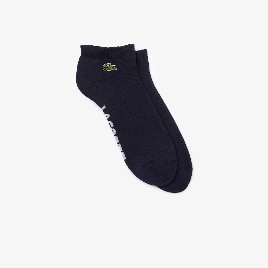 Men's Lacoste SPORT Branded Low-Cut Cotton Socks