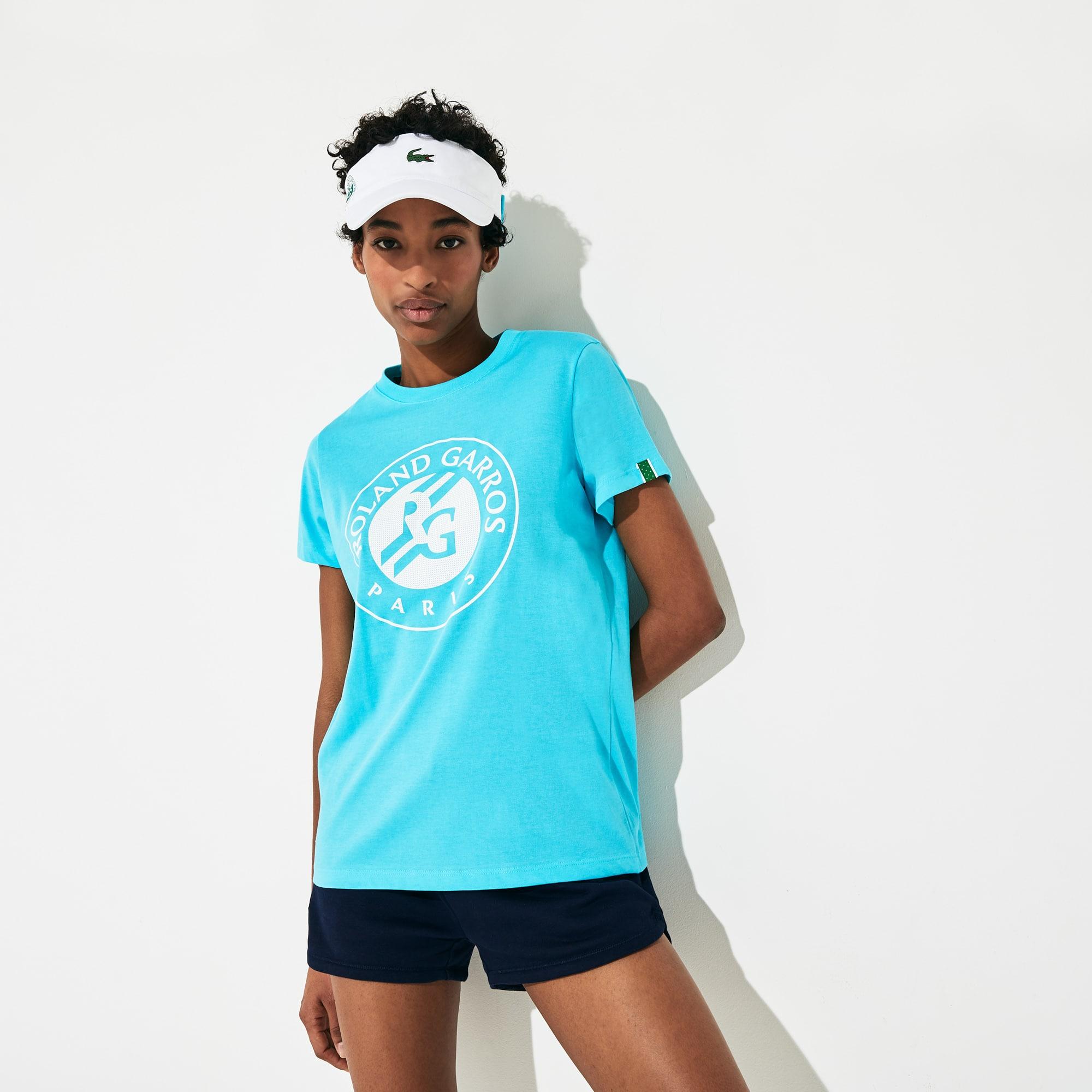 라코스테 스포츠 '롤랑가로스 에디션' 로고 티셔츠 Lacoste Womens SPORT Roland Garros Logo T-Shirt