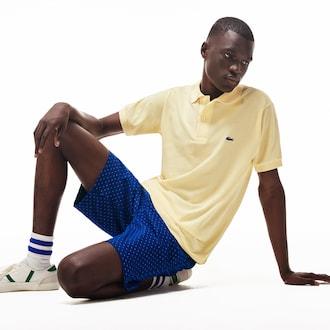 라코스테 Lacoste Mens Cargo Fit Stretch Cotton Shorts