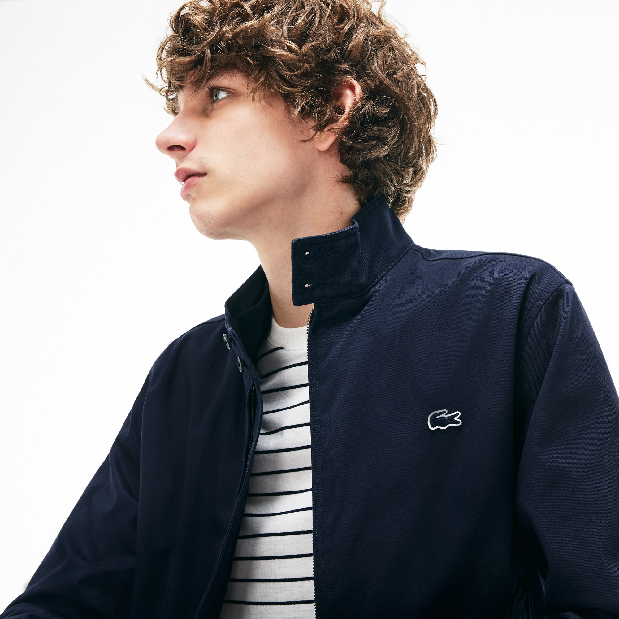 LACOSTE Cottons Men's Cotton Twill Jacket