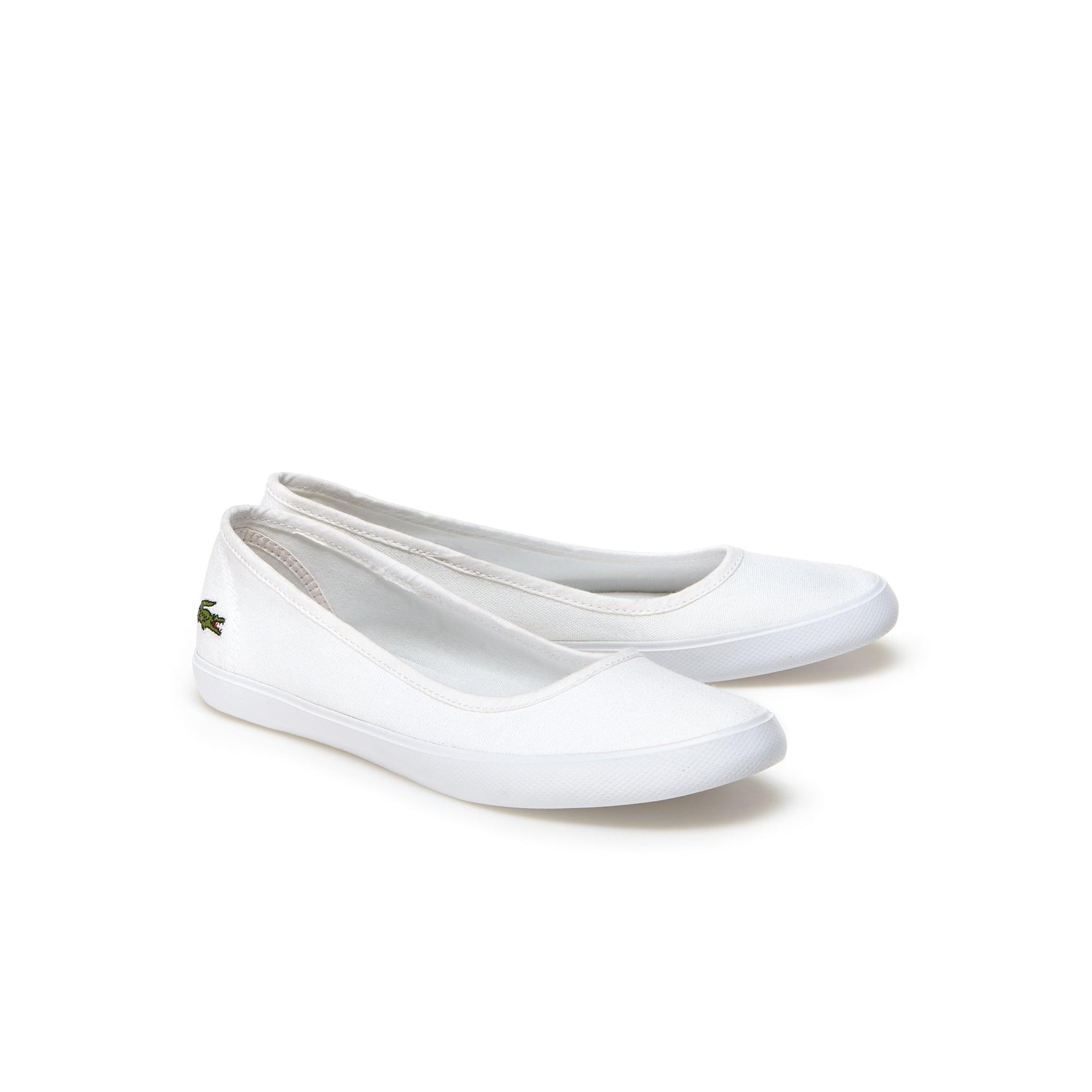 45a74836e Women s Marthe Canvas Ballerina Flats