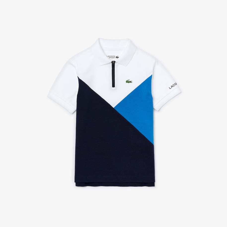 Boys' SPORT Colorblock Ultra-Light Knit Polo Shirt