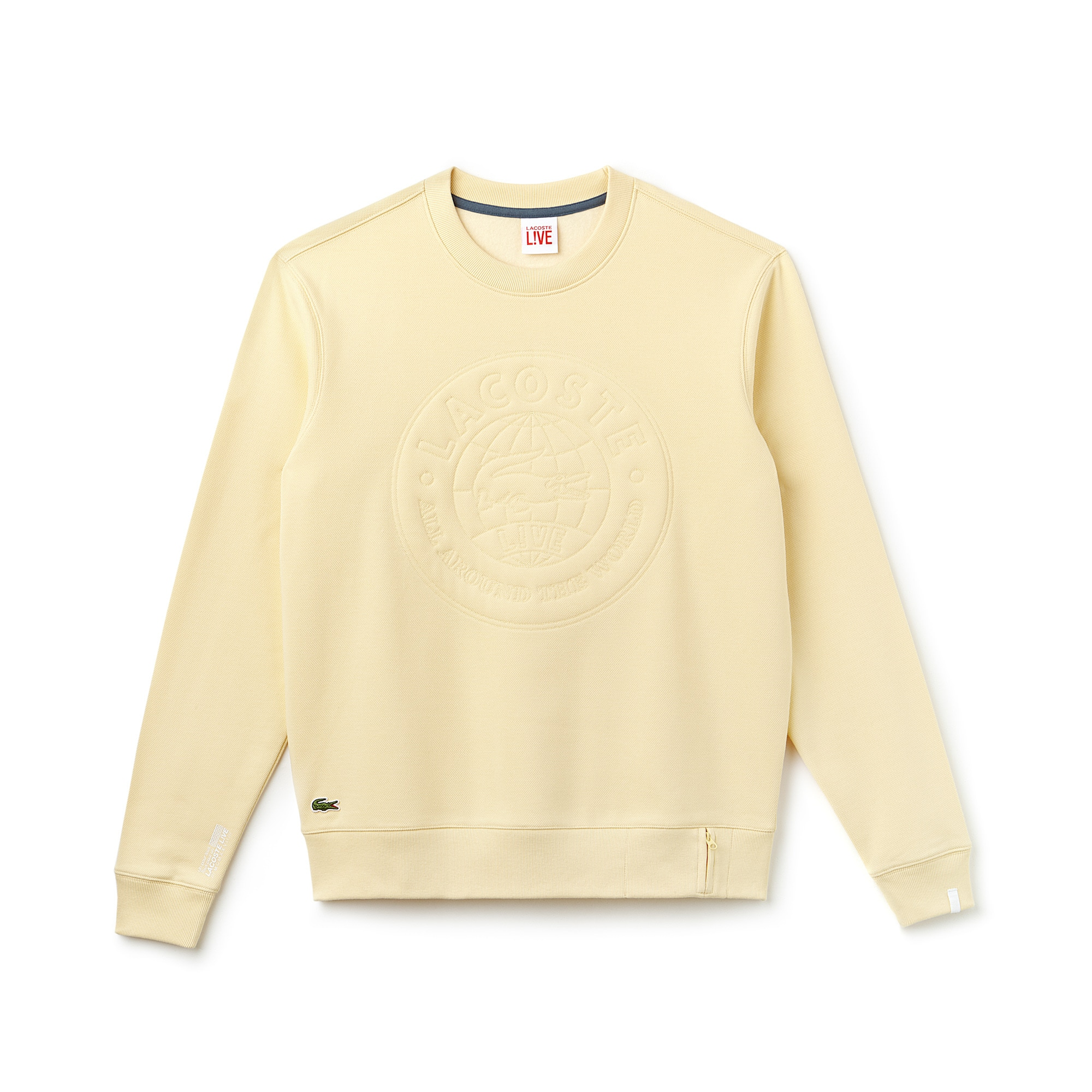 Unisex LIVE Logo Design Sweatshirt