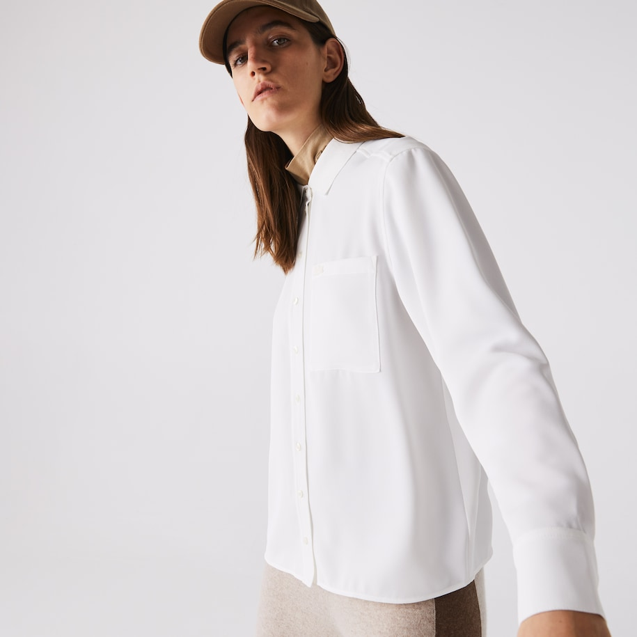 Women's Regular Fit Flowy Shirt