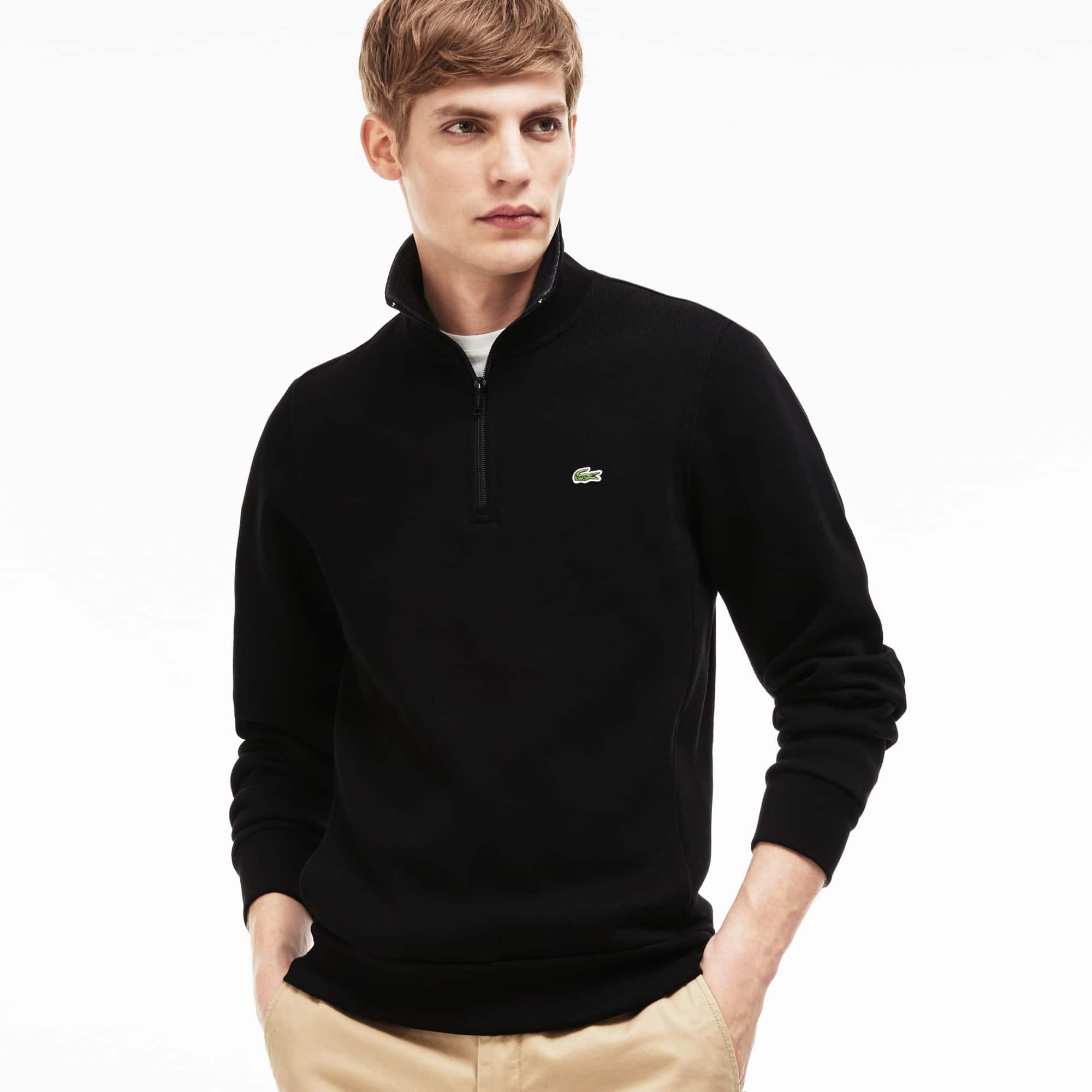 Men's Stand Up Collar Sweatshirt