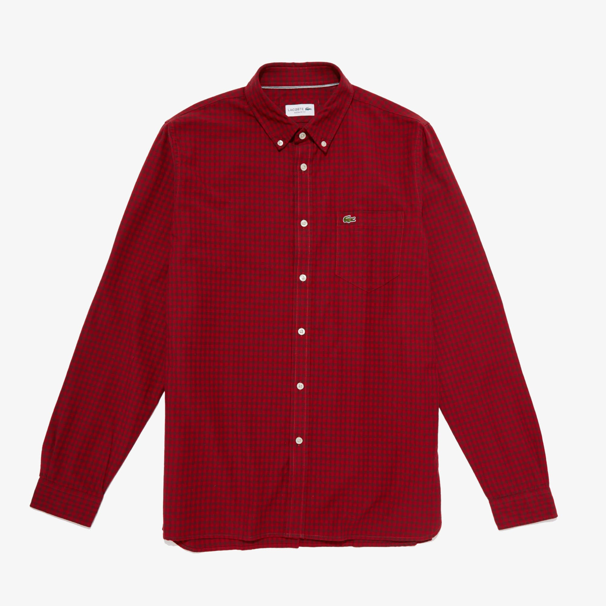 Lacoste Cottons Men's Regular Fit Cotton Shirt