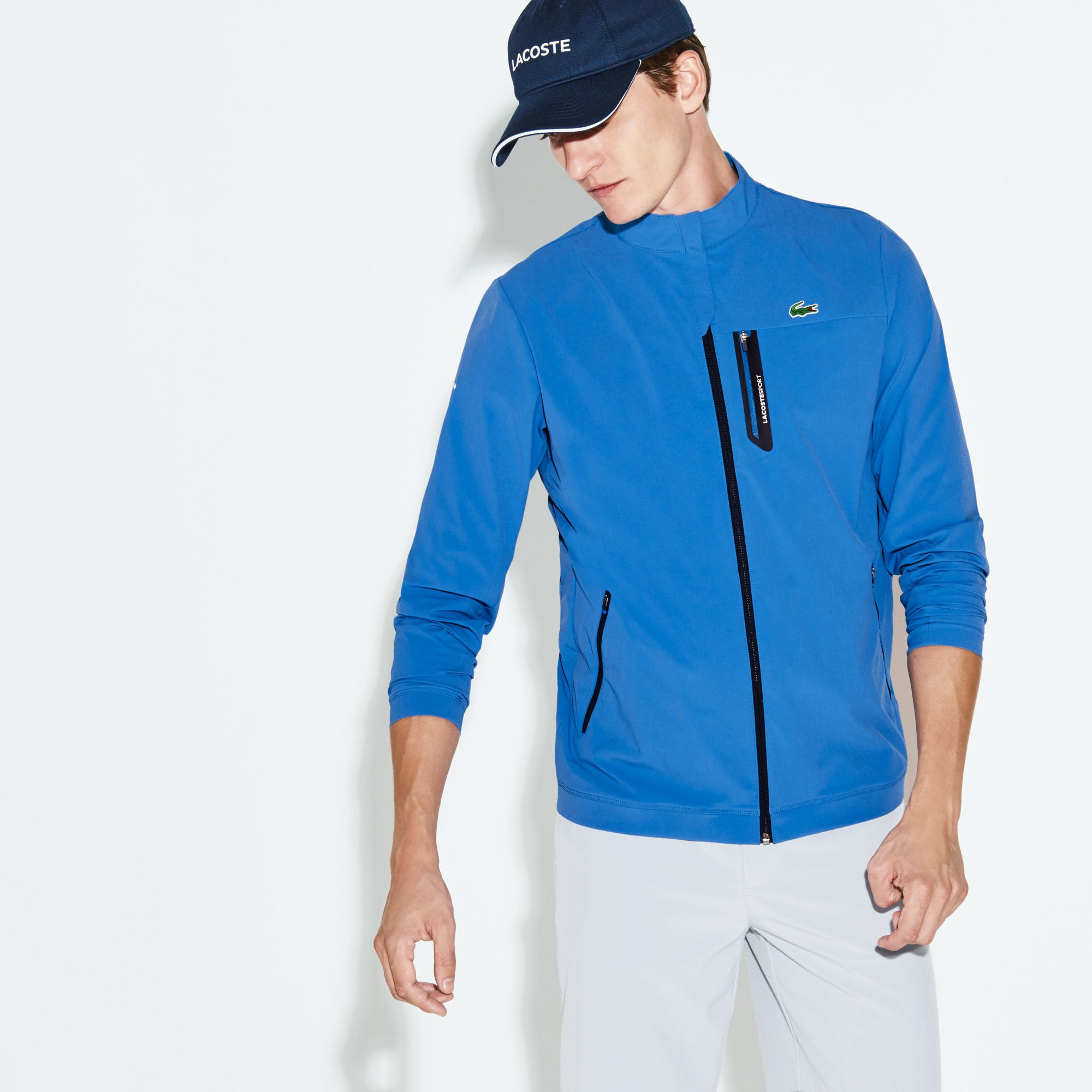 Men's SPORT Technical Zip Golf Jacket