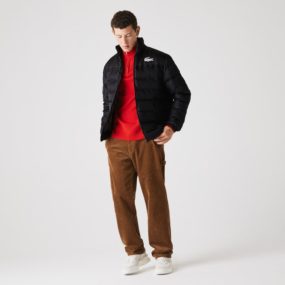 Men's Lacoste SPORT Two-Tone Water-Resistant Quilted Jacket