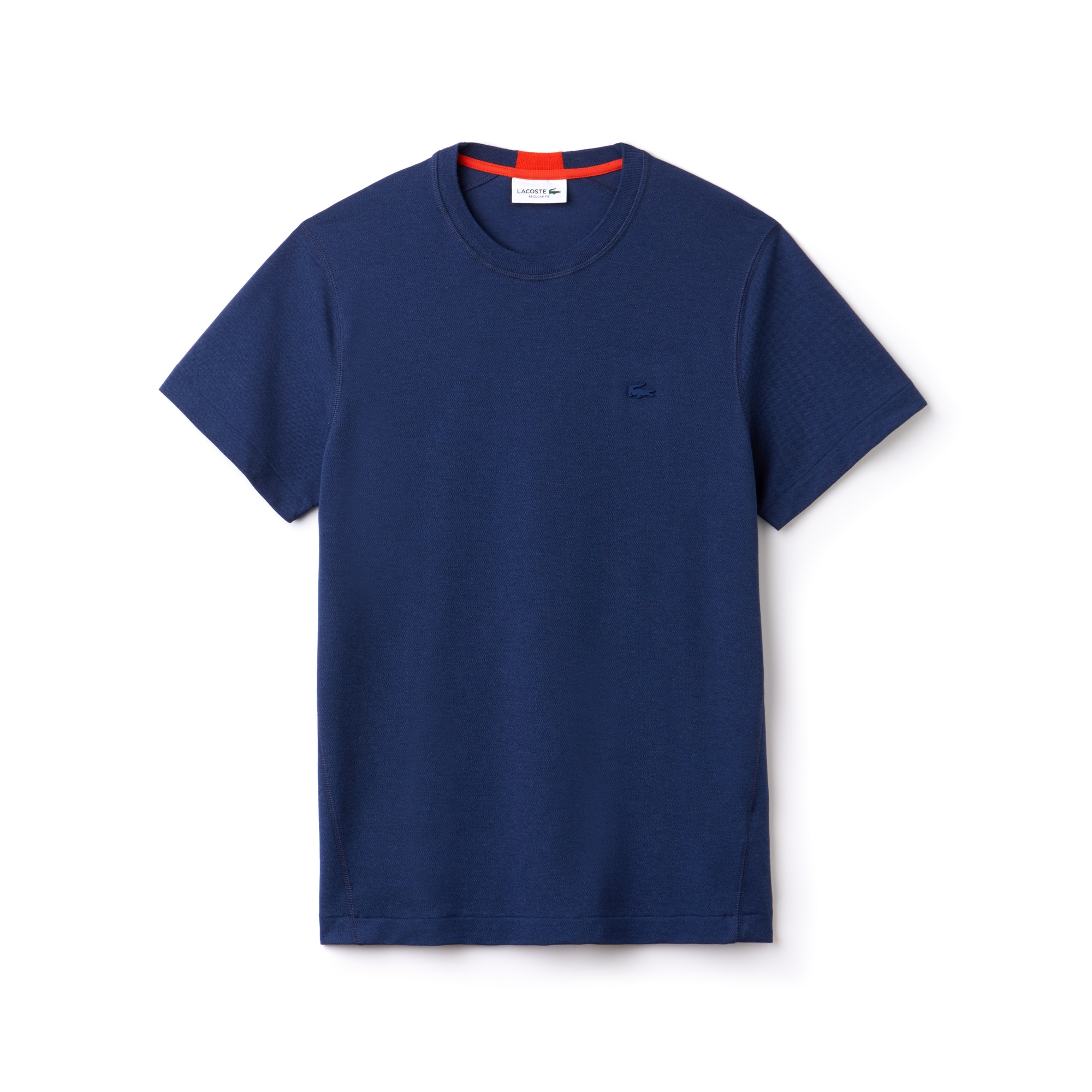 Men's Motion Crew Neck Technical Petit Piqué T-Shirt
