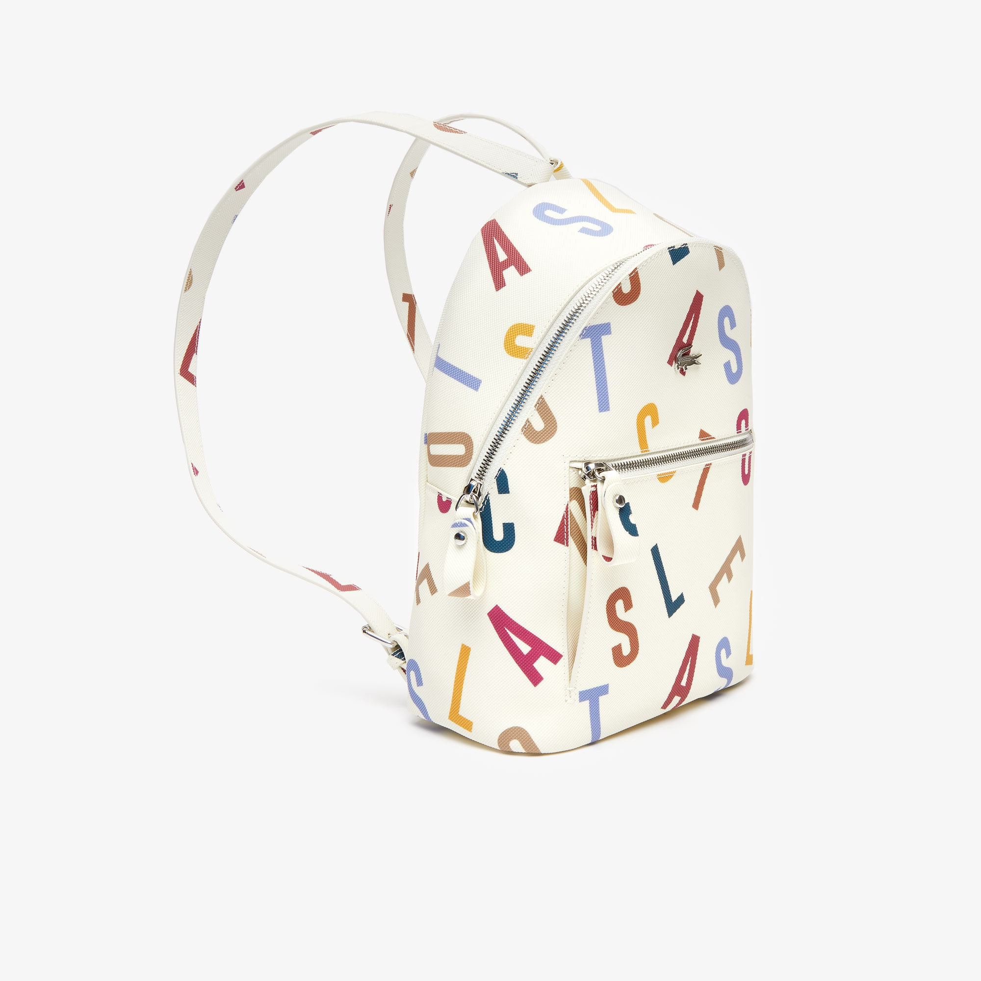 Women's Daily Classic Printed Coated Canvas Backpack