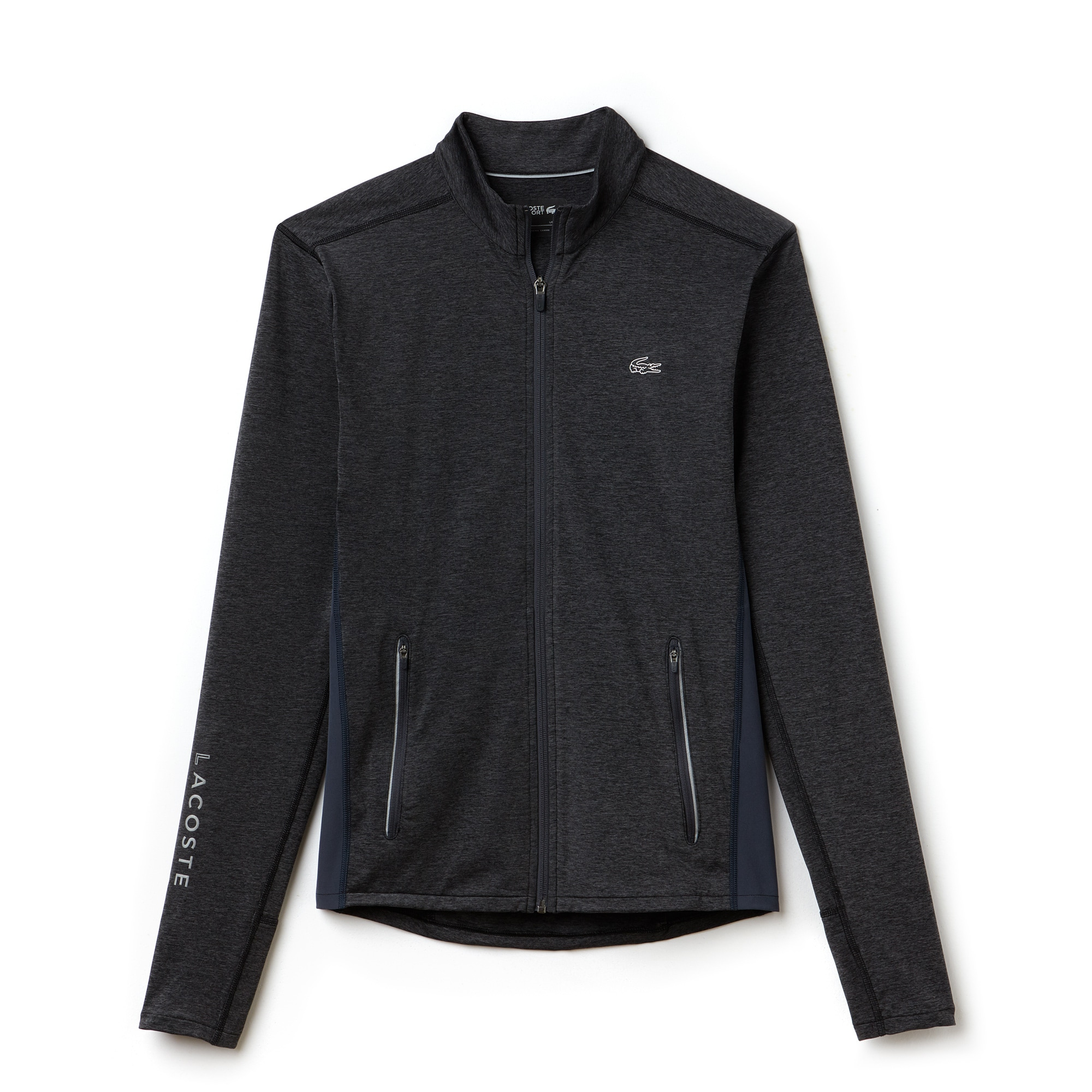 Men's Lacoste SPORT Tennis Zippered Stretch Jersey Sweatshirt