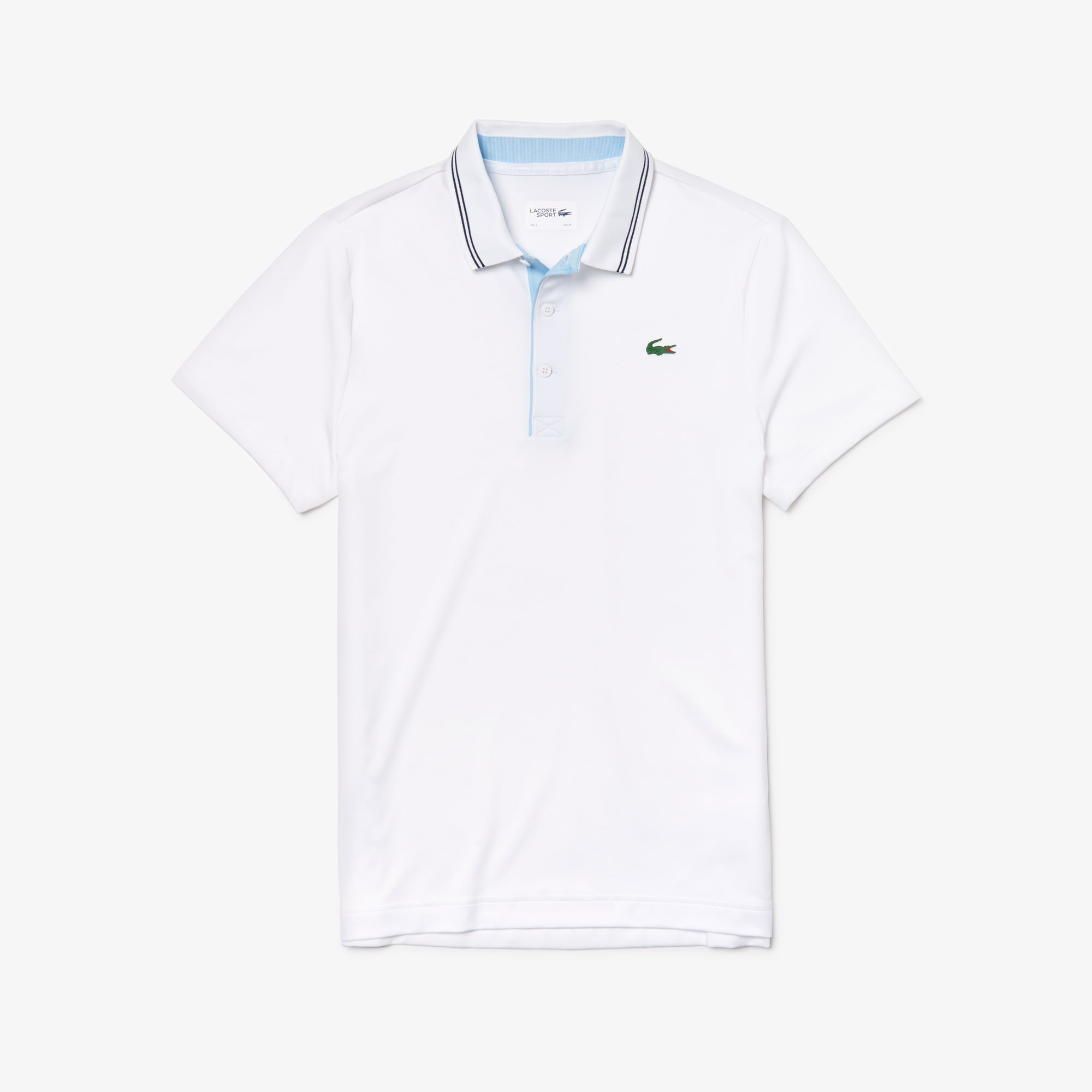 f2d40795135f72 Men s SPORT Lettering Stretch Technical Jersey Golf Polo Shirt