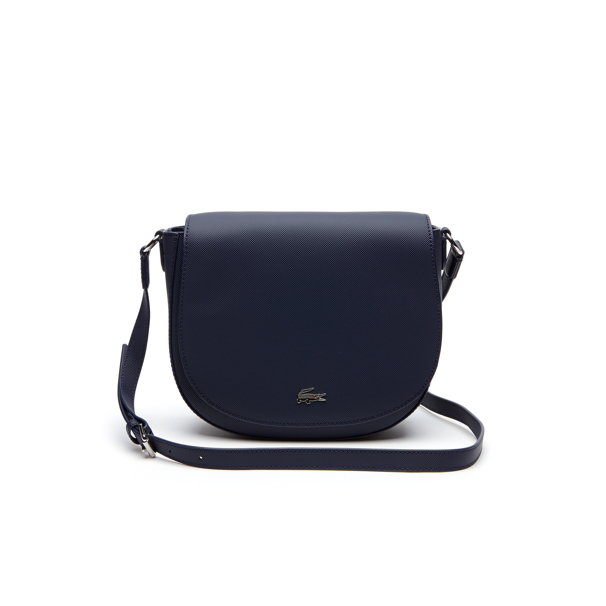 Women's Daily Classic Coated Piqué Canvas Round Crossover Bag