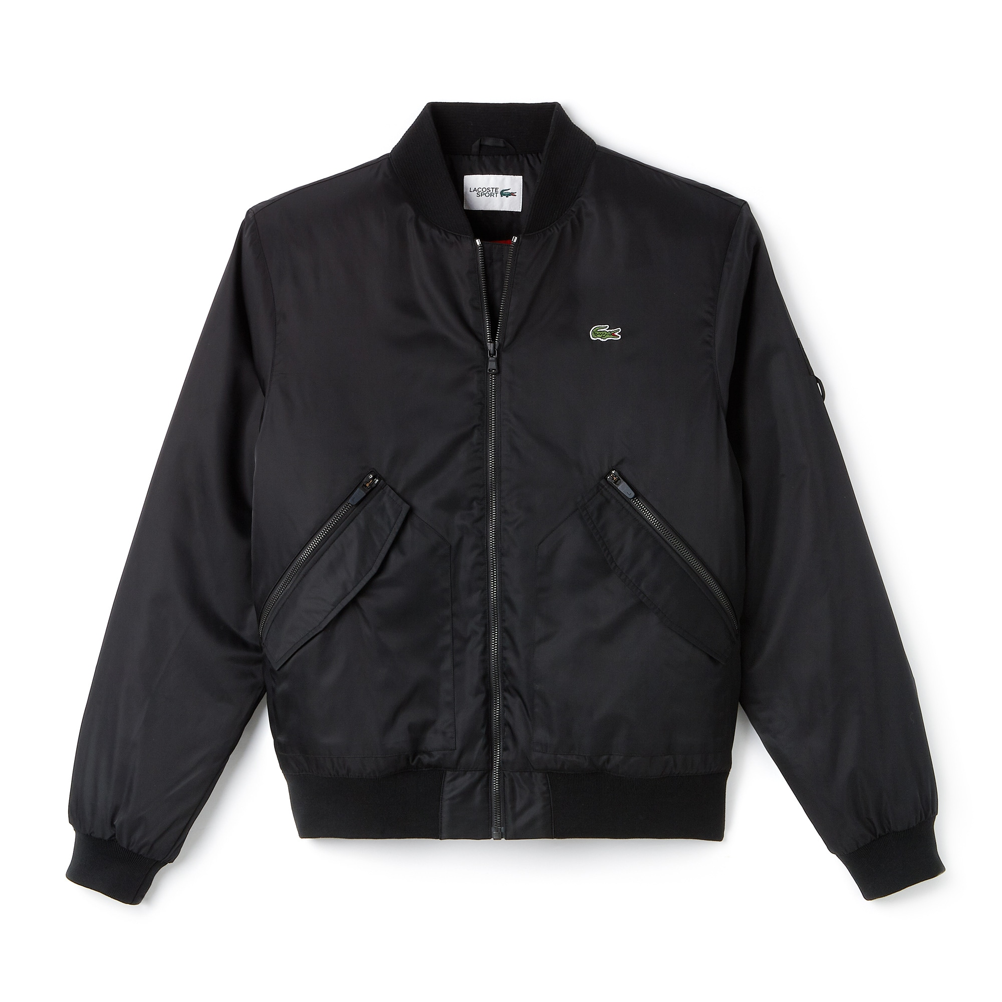 Men's SPORT Water-Resistant Twill Technical Tennis Bomber