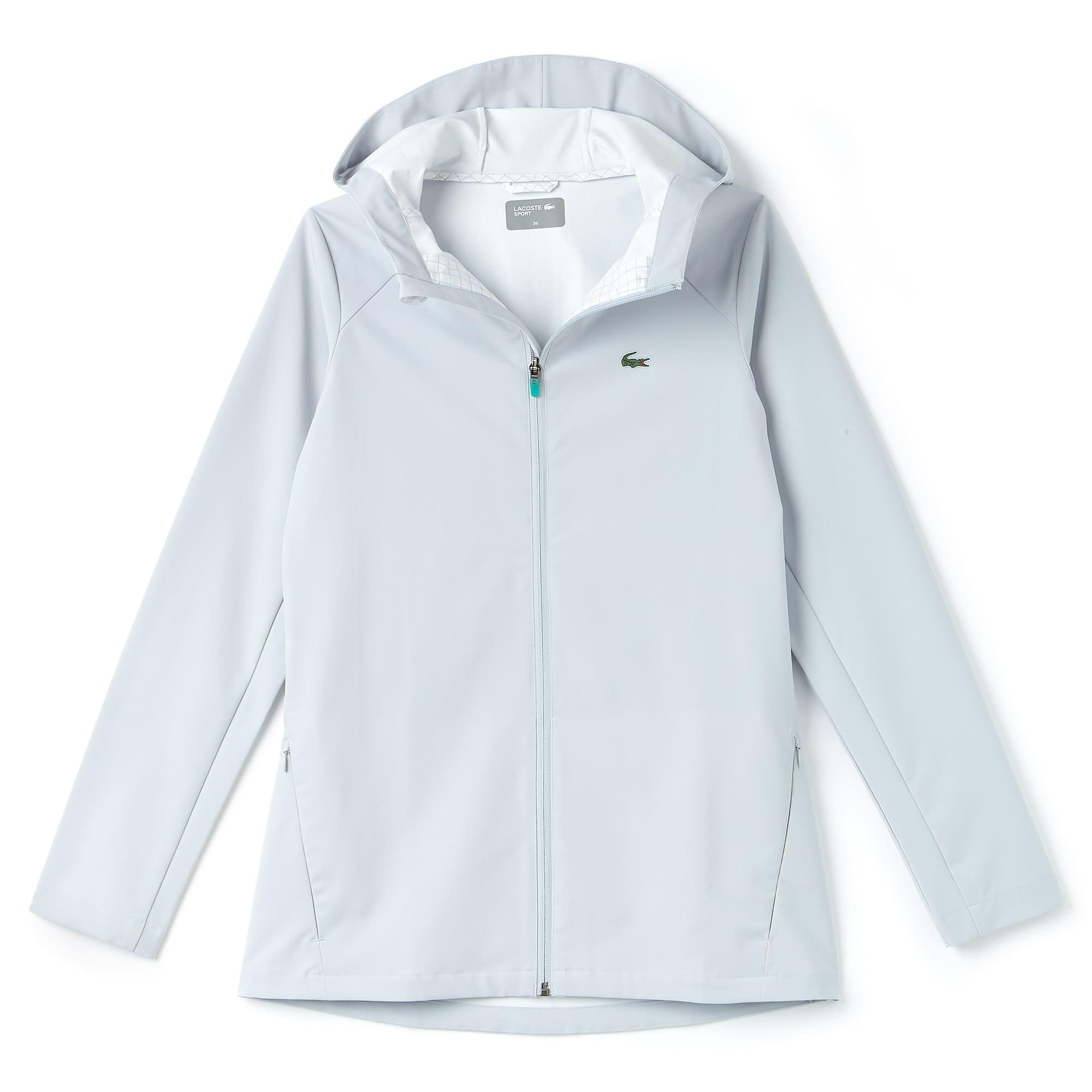 5a96783b66 Coupe-vent à capuche femme Tennis Lacoste SPORT déperlant   LACOSTE