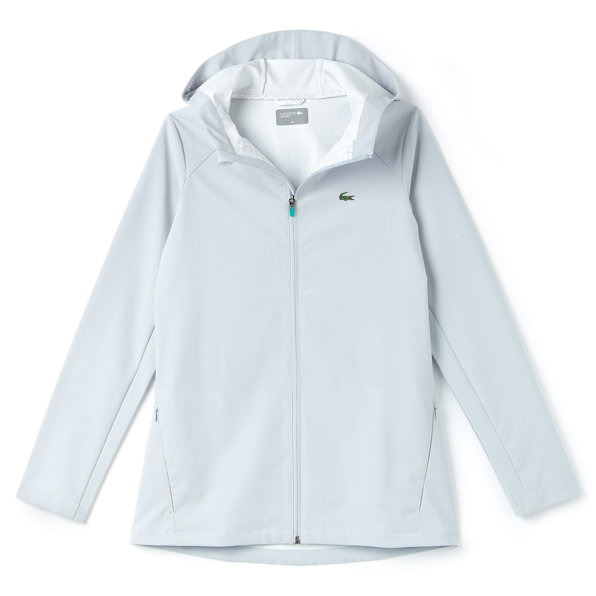 Women's SPORT Hooded Water-Resistant Tennis Windbreaker