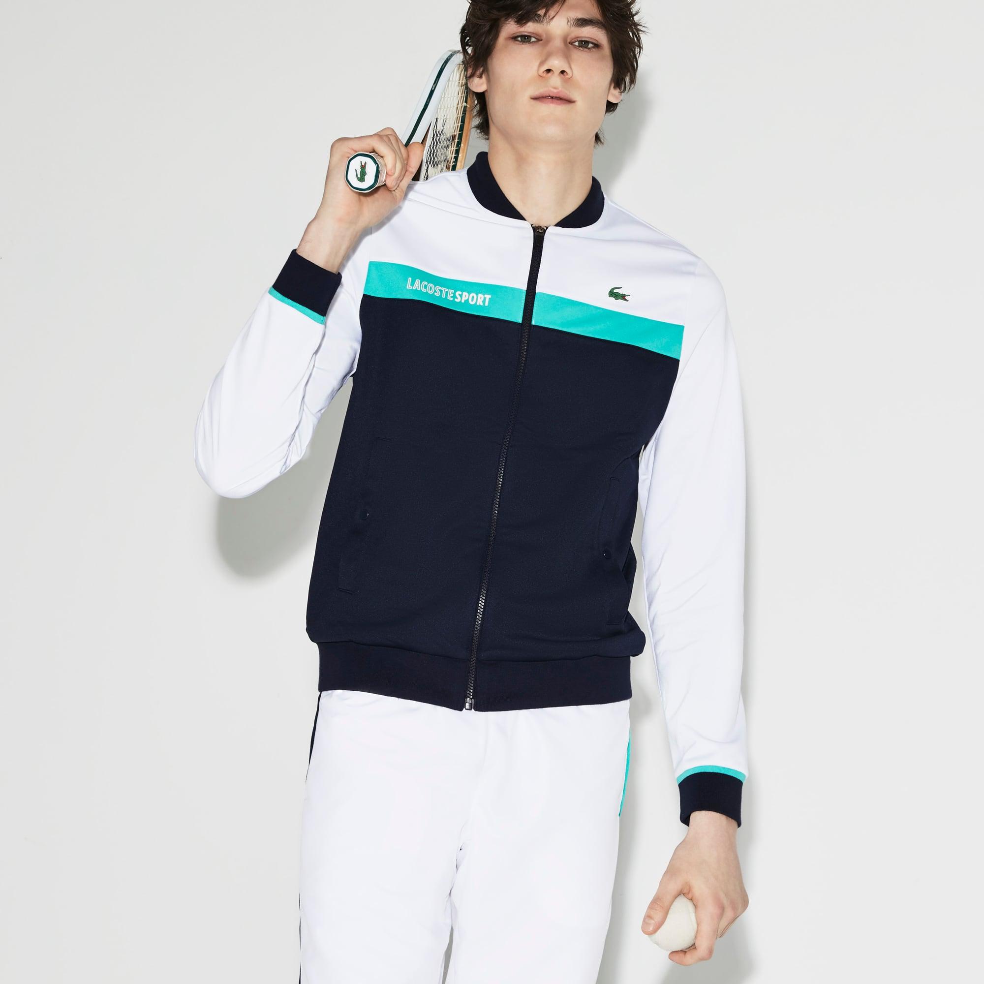 Men's SPORT Piqué Tennis Sweatshirt
