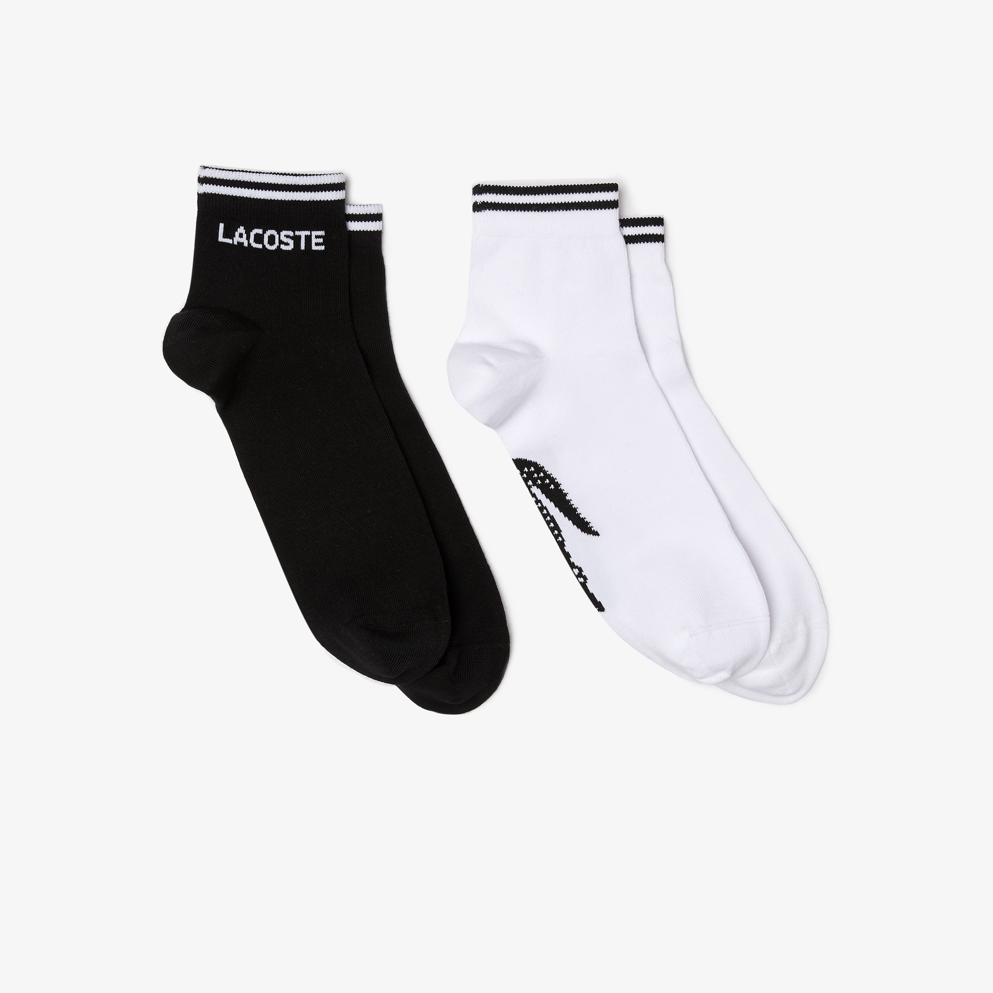 Men's Two-pack of  Tennis low-cut socks in jacquard jersey
