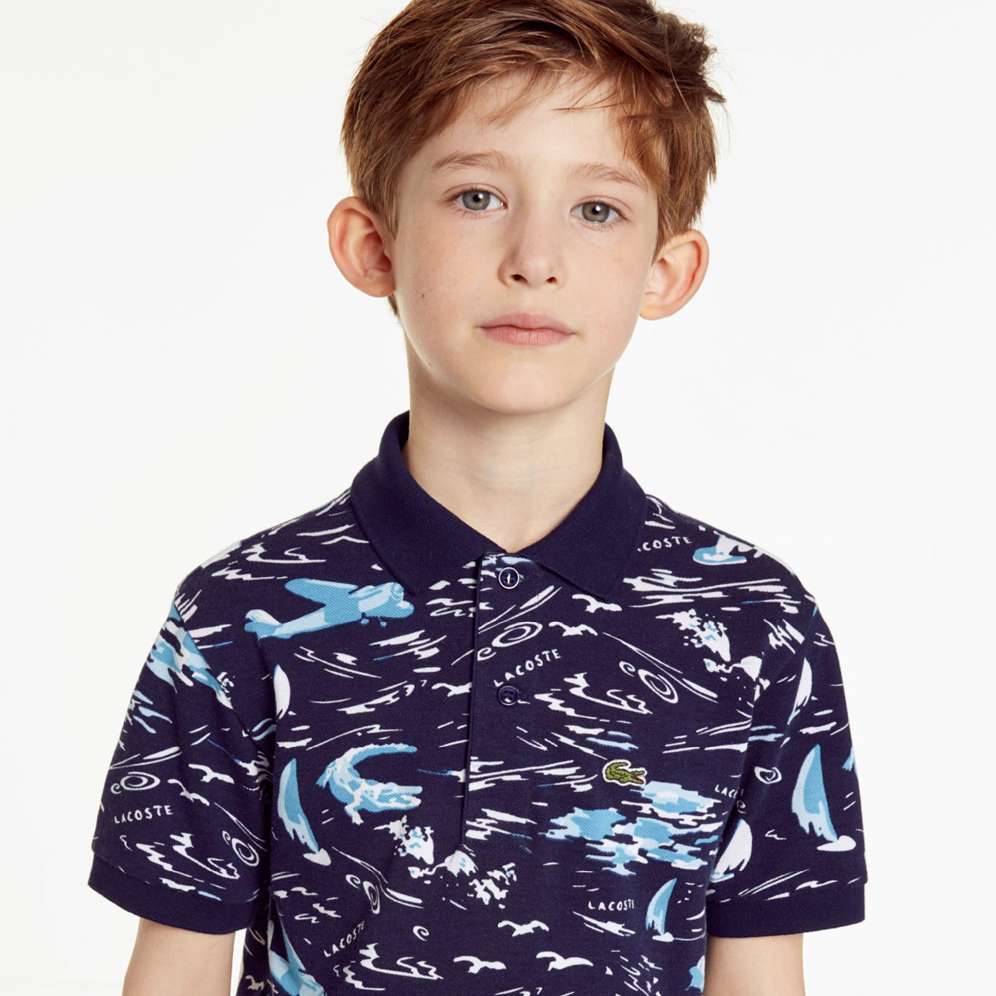 Boys' Cotton Polo Shirt