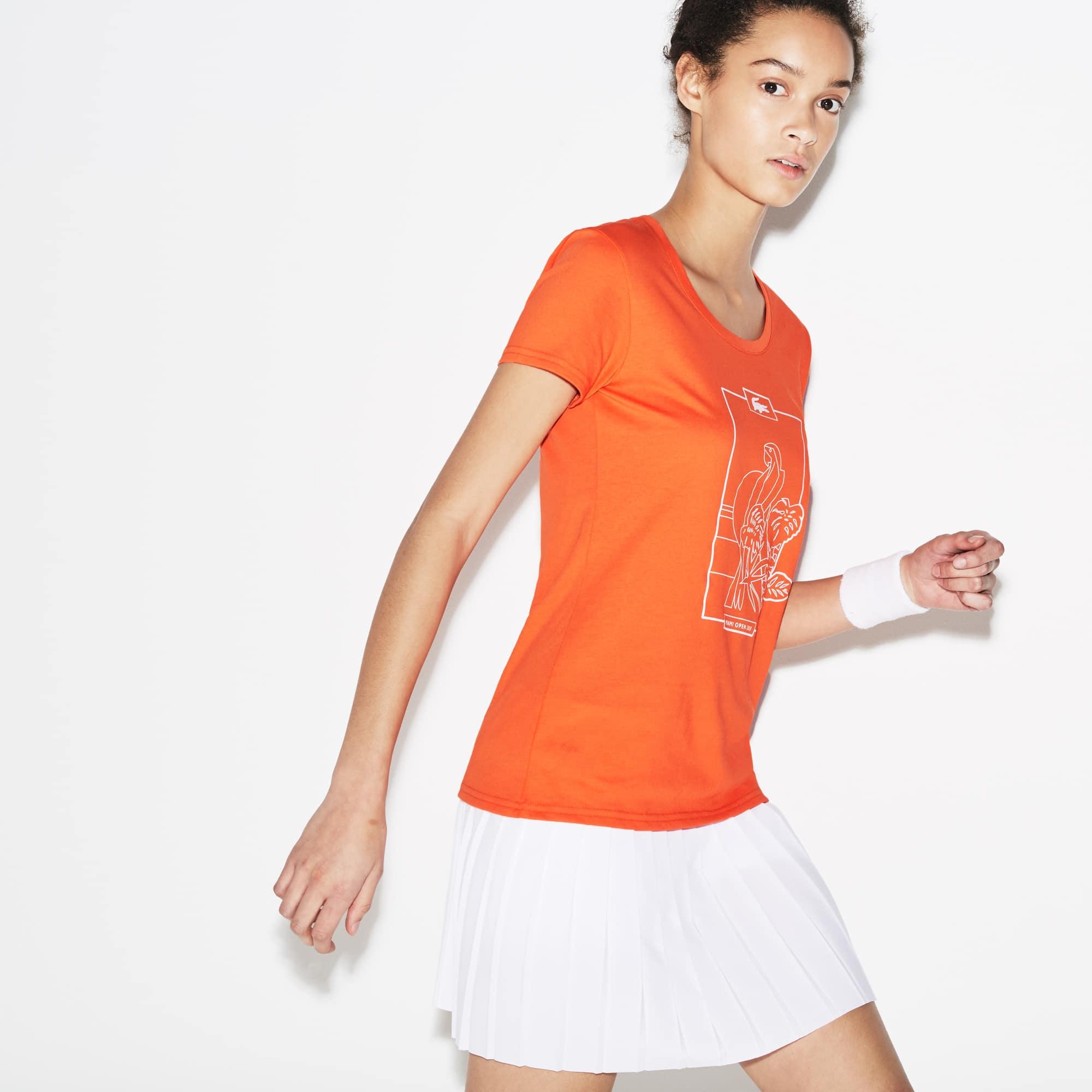 Women's SPORT Miami Open Design Jersey Tennis T-shirt