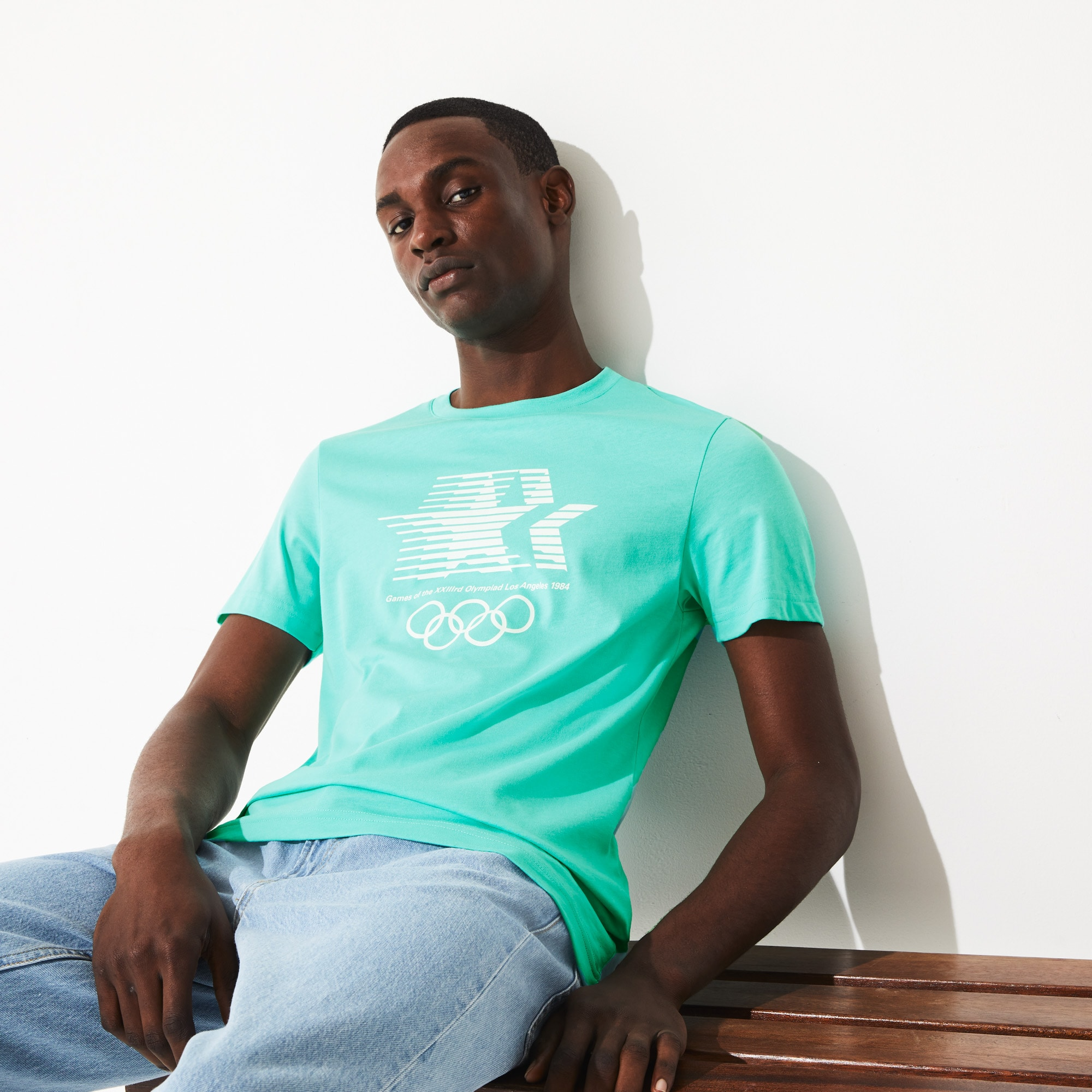 T-shirt Olympic Heritage Collection en coton