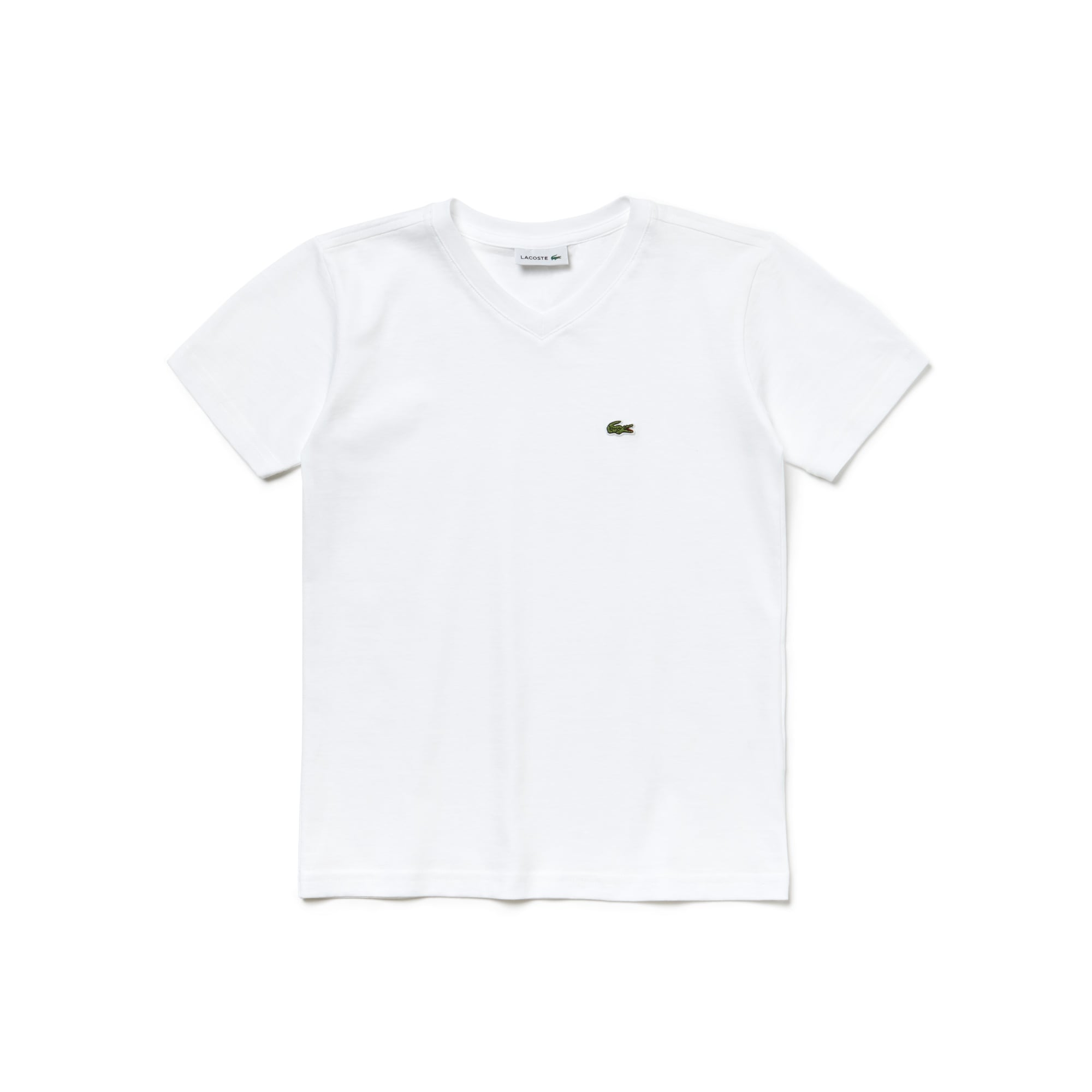 Boy's V-Neck Cotton T-Shirt