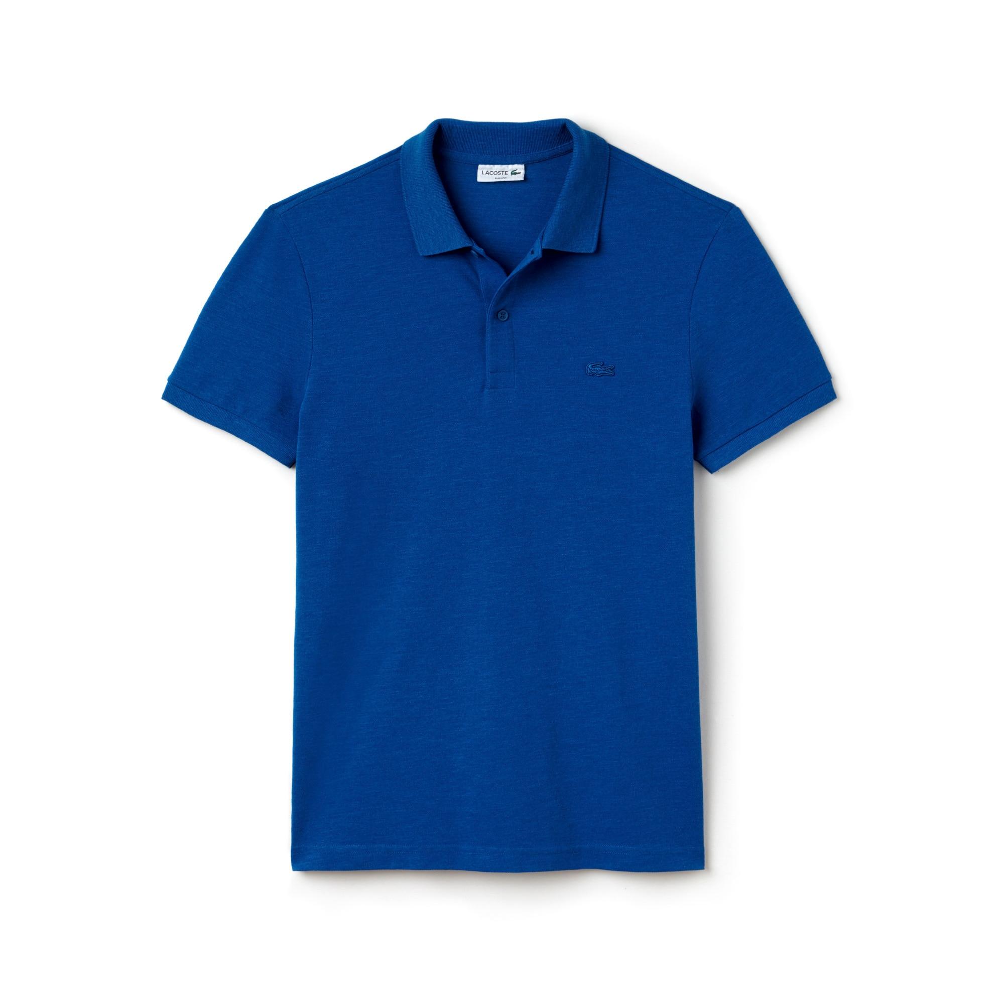 Men's Garment Dyed Vintage Polo Shirt