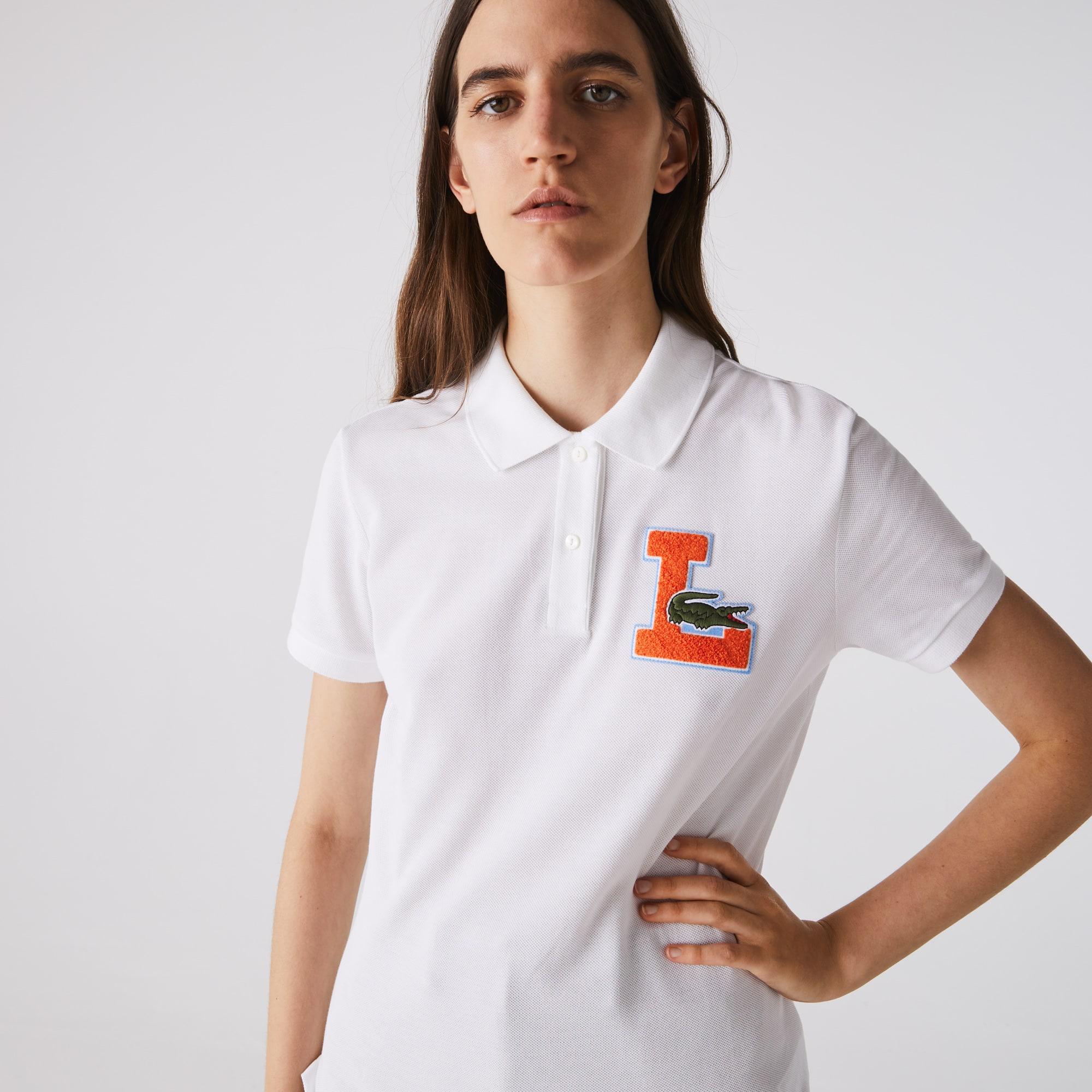 Lacoste Women's Regular Fit Soft Cotton Pique Polo Shirt