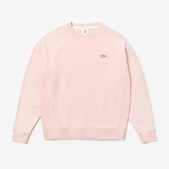 라코스테 라이브 유니섹스 맨투맨 스웻셔츠 Lacoste Unisex LIVE Cotton Fleece Sweatshirt