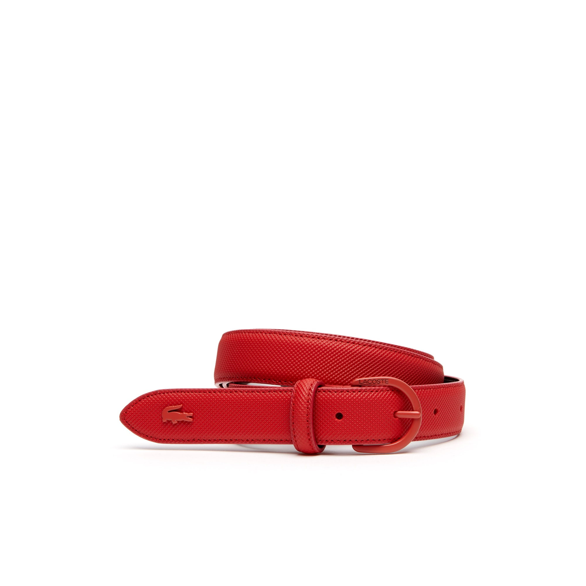 Women's L.12.12 Monochrome Petit Piqué Belt