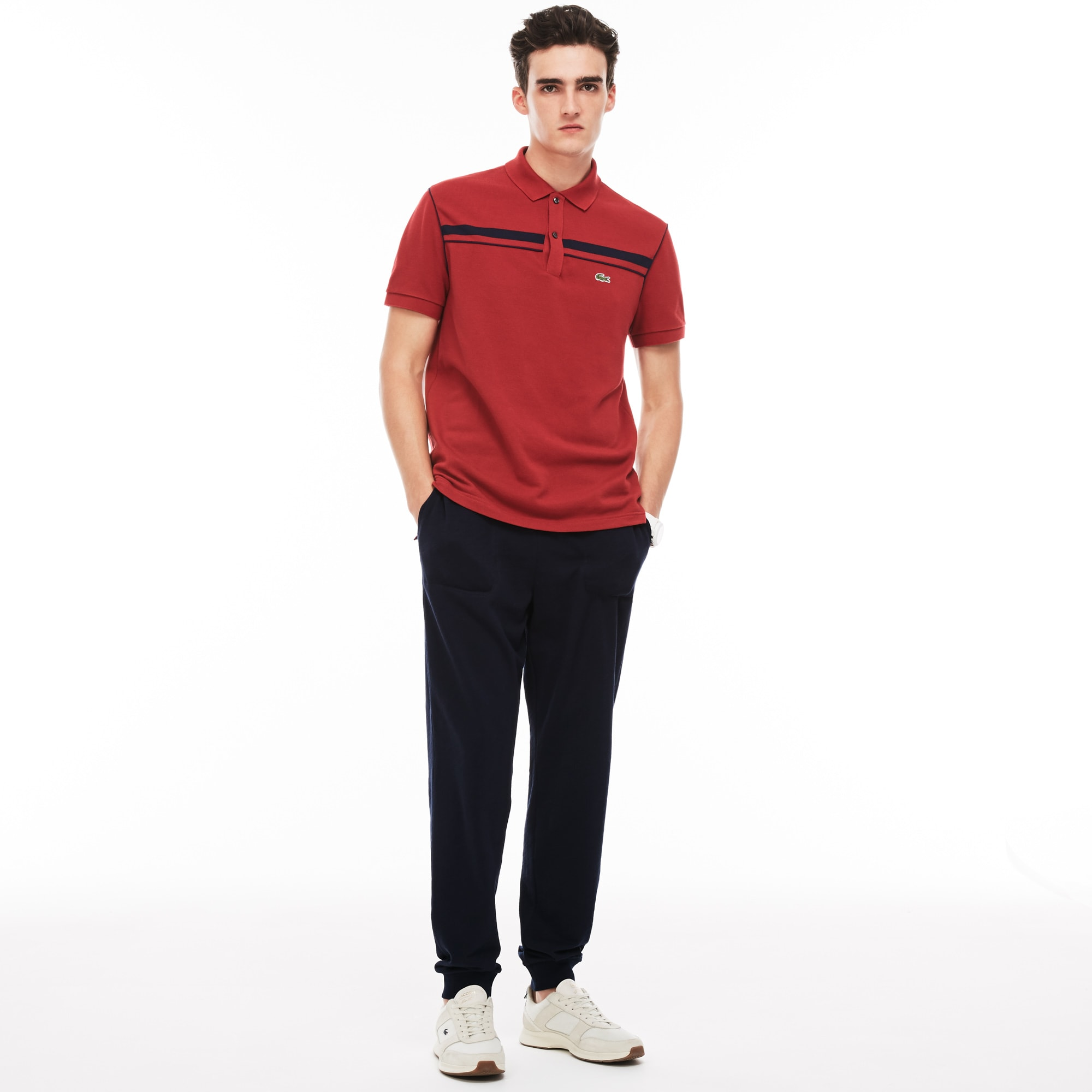 Men's Lacoste MOTION Cotton Fleece Urban Jogging Pants