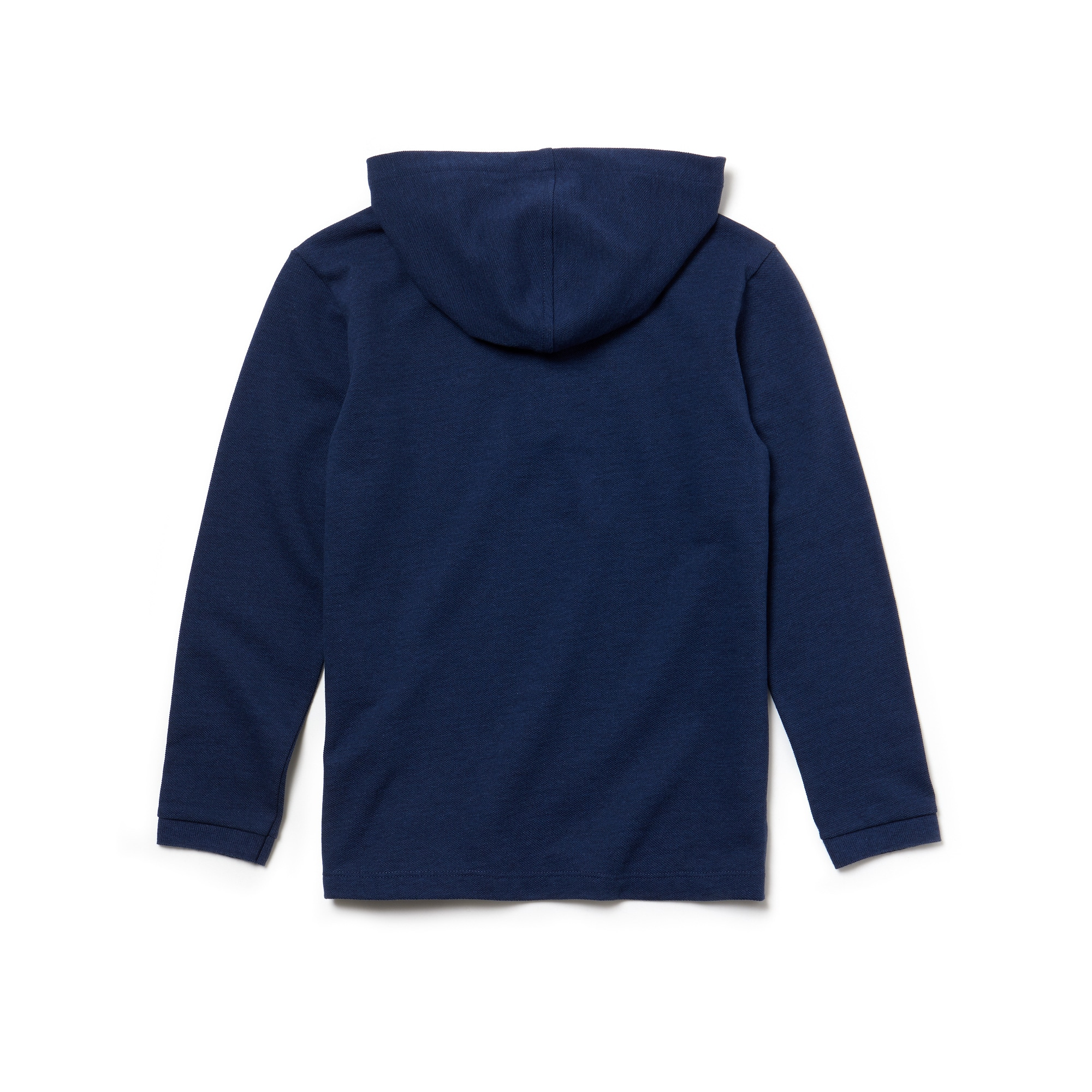 Boys' Hooded Piqué Polo