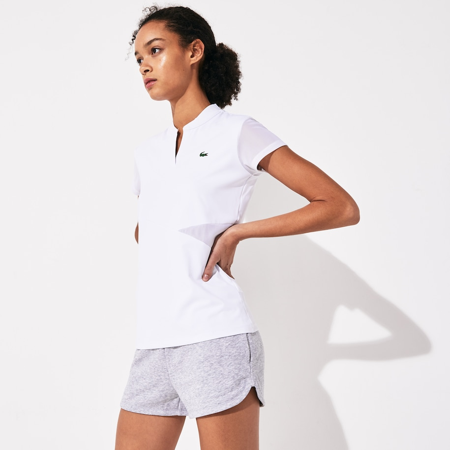 Women's SPORT V-Neck Breathable Tennis Polo