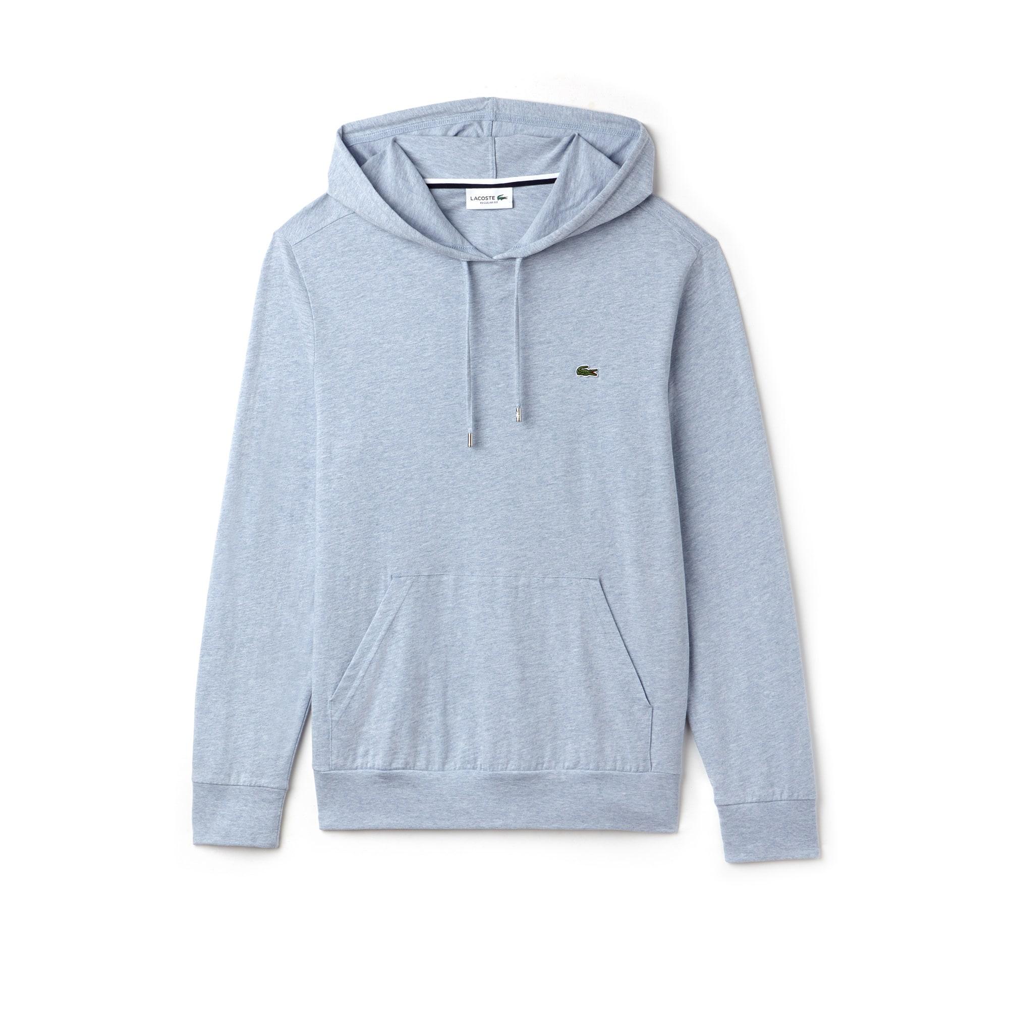 Men's Hooded Cotton Jersey Hoodie