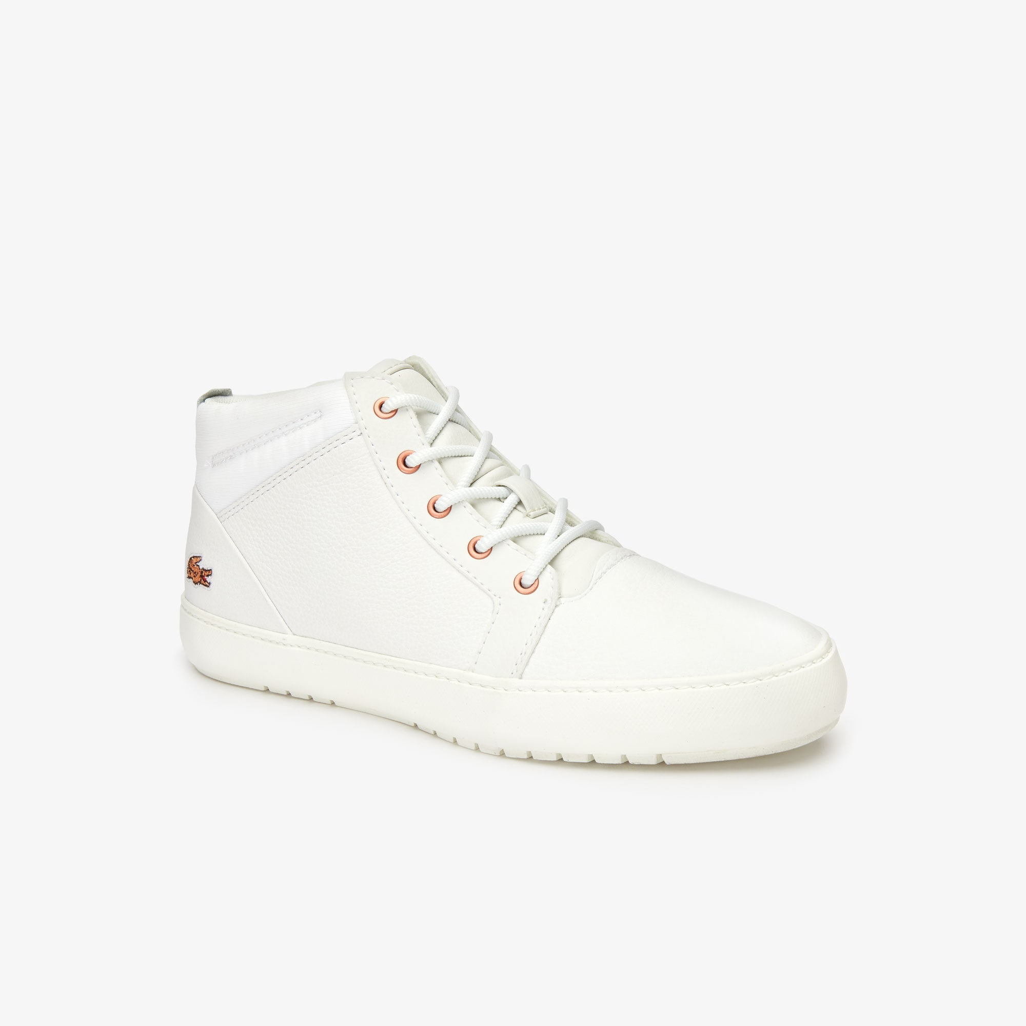 Women's Ampthill Leather Sneakers   LACOSTE