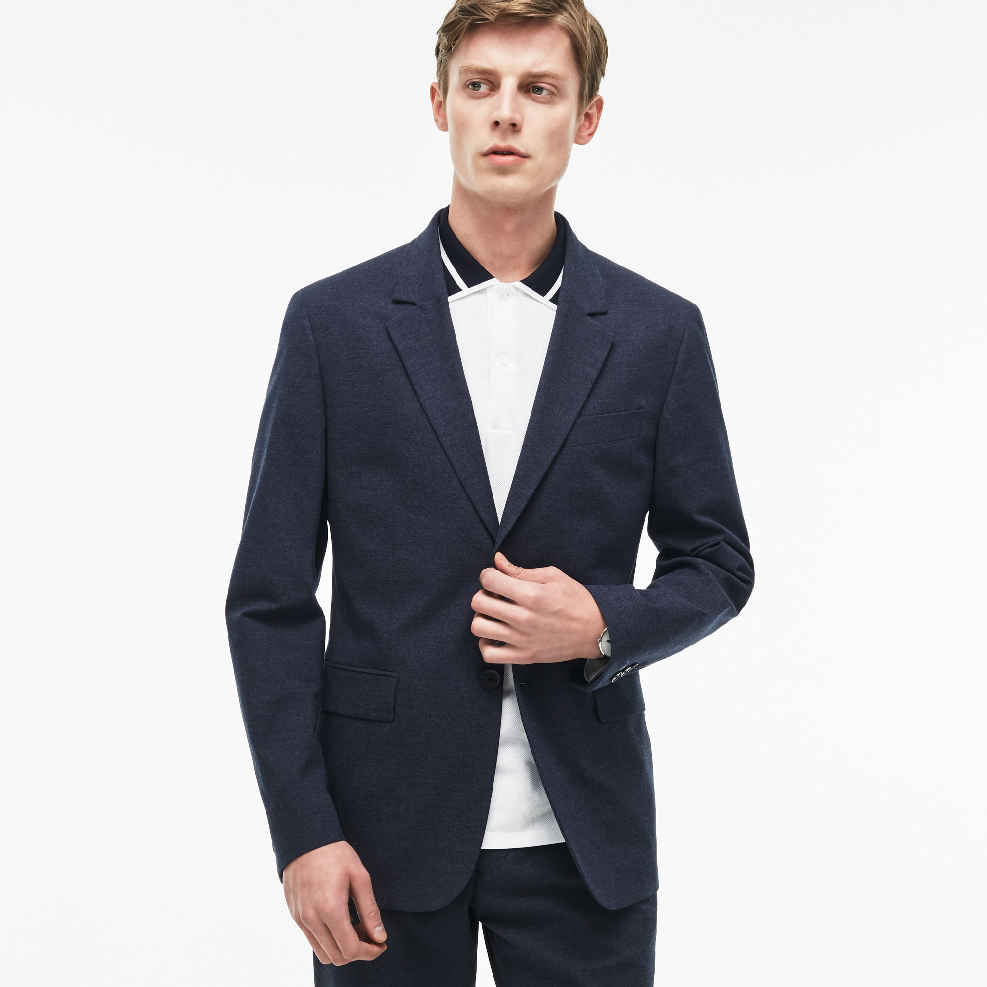 Men's Regular Fit Cotton Gabardine Jacket