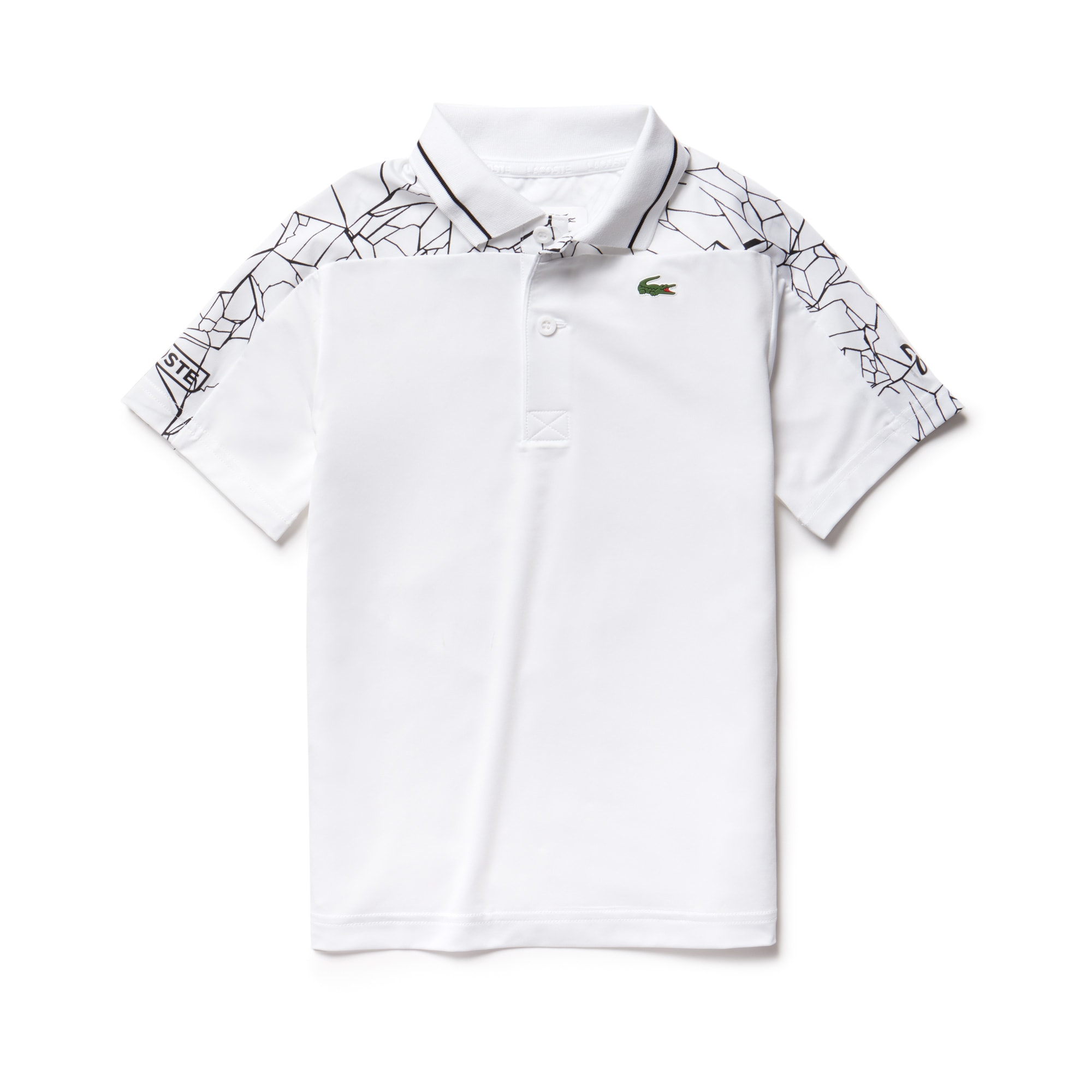 Boys' SPORT Stretch Technical Polo- Novak Djokovic Collection
