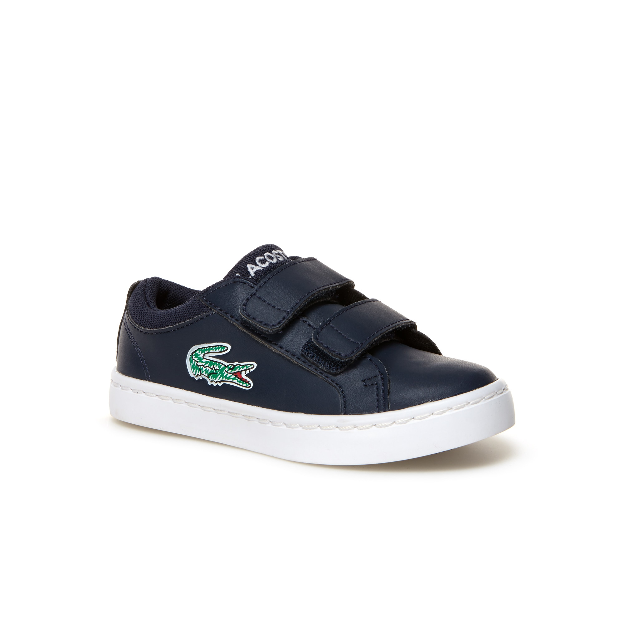 Kids' Straightset Lace Leather-look Trainers