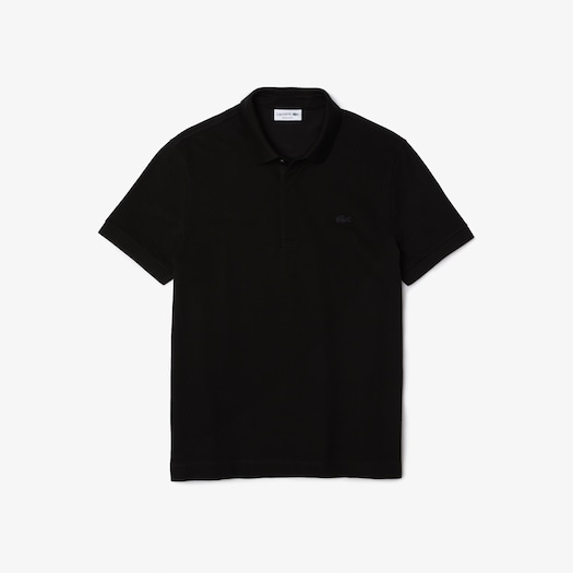 라코스테 Lacoste Mens Paris Polo,Black - 031 (Selected colour)