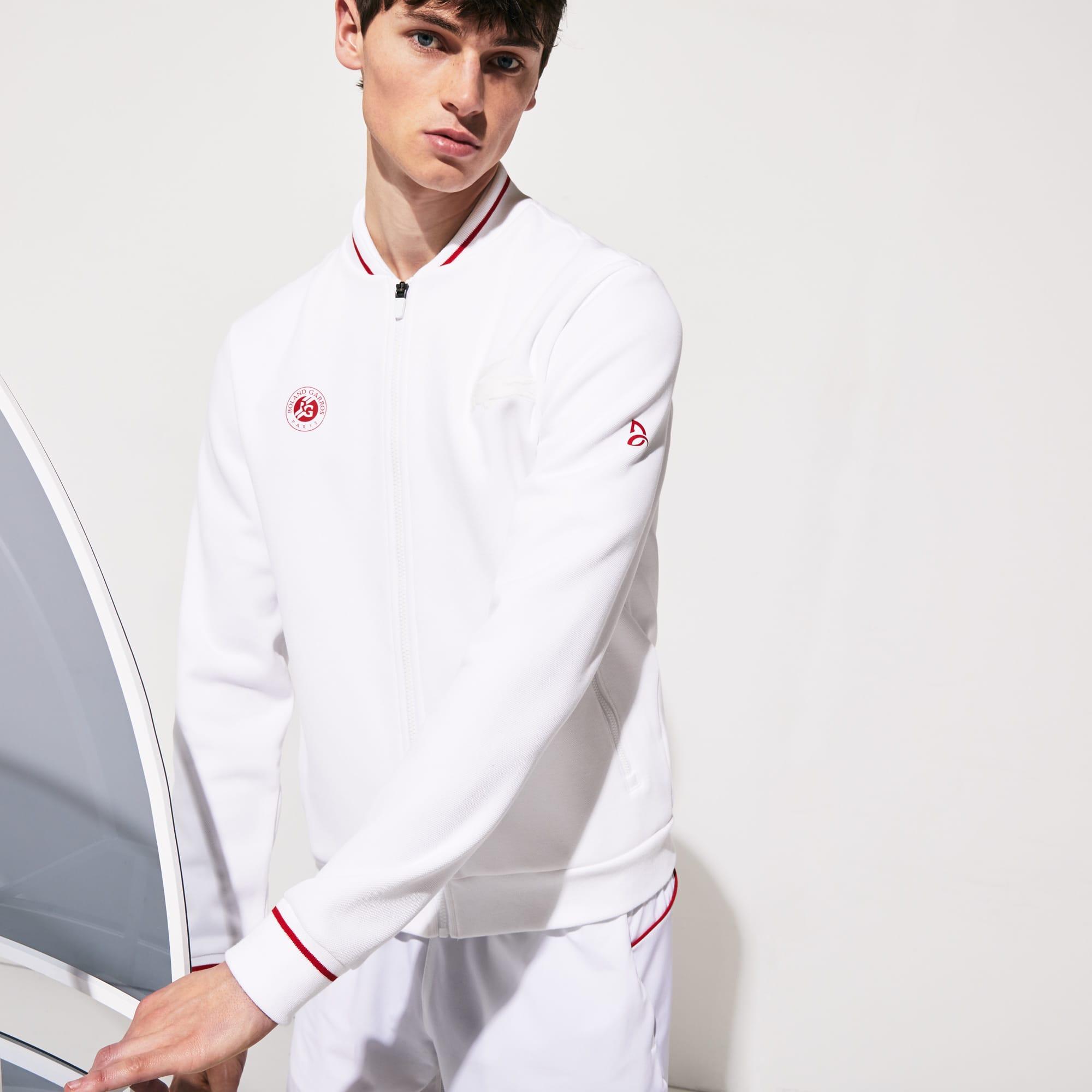 라코스테 스포츠 롤랑가로스 노박 조코비치 자켓 Lacoste Mens SPORT Roland Garros x Novak Djokovic Jacket