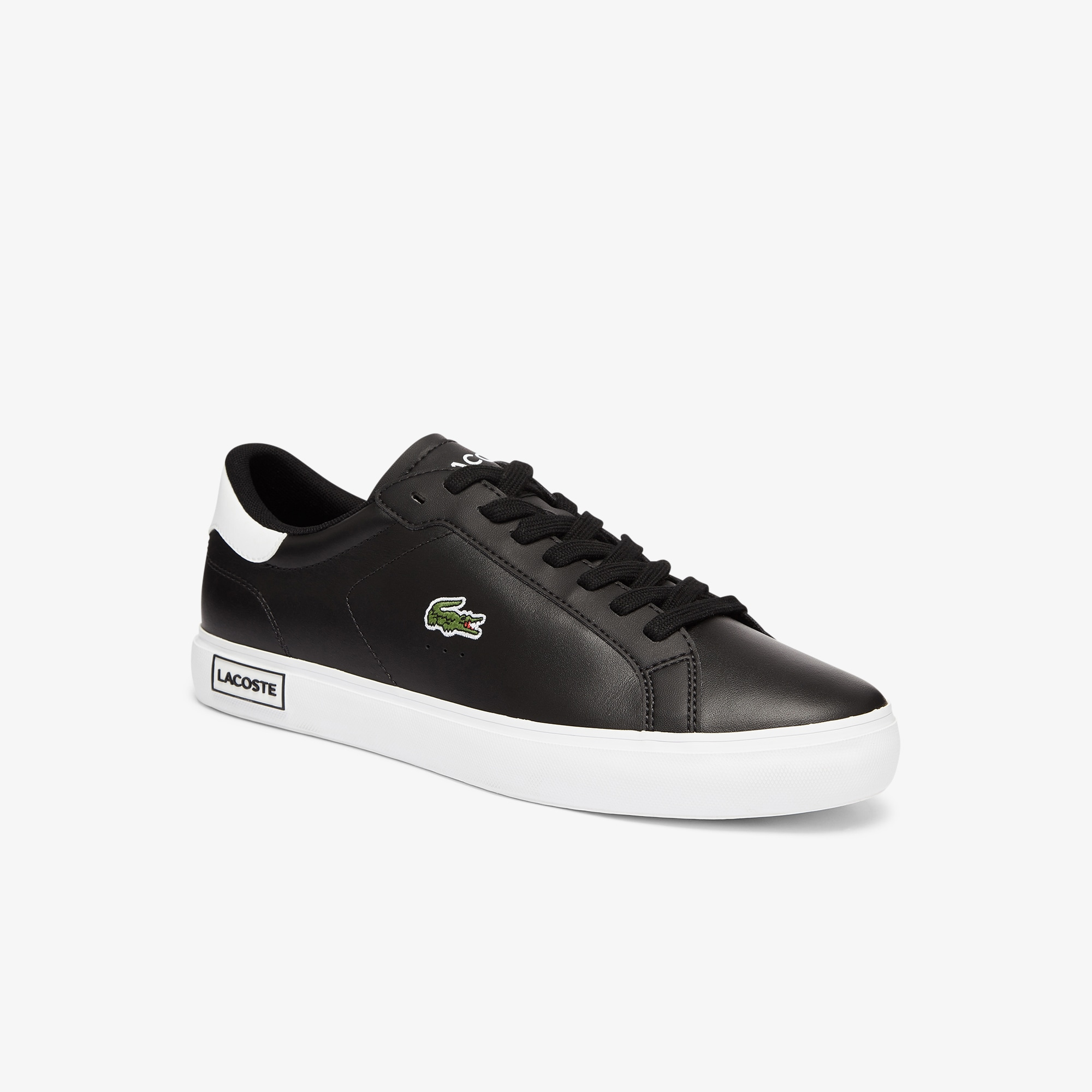Lacoste Mens Power Court Low Top Sneakers