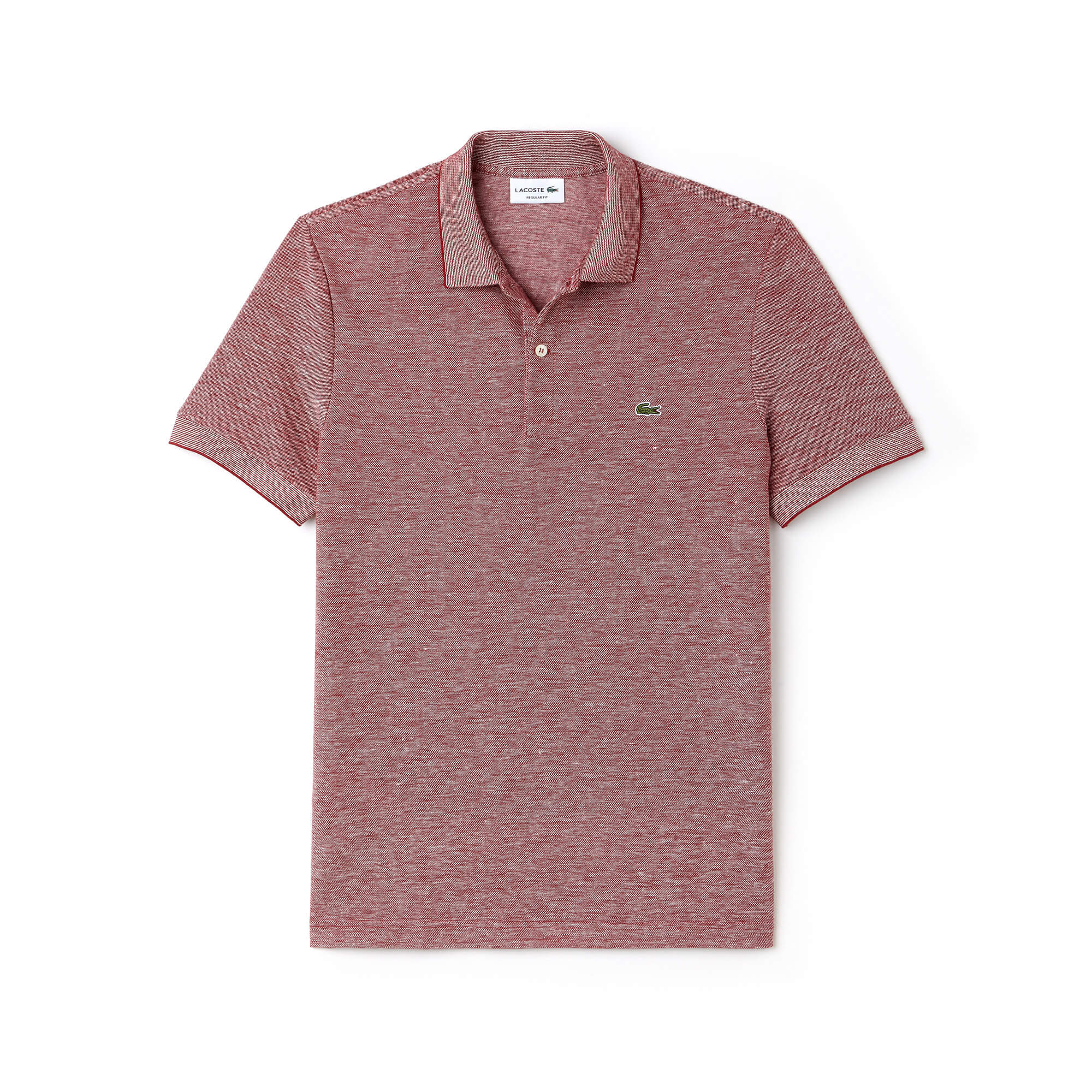 Men's Lacoste Regular Fit Texturized Caviar Piqué Polo