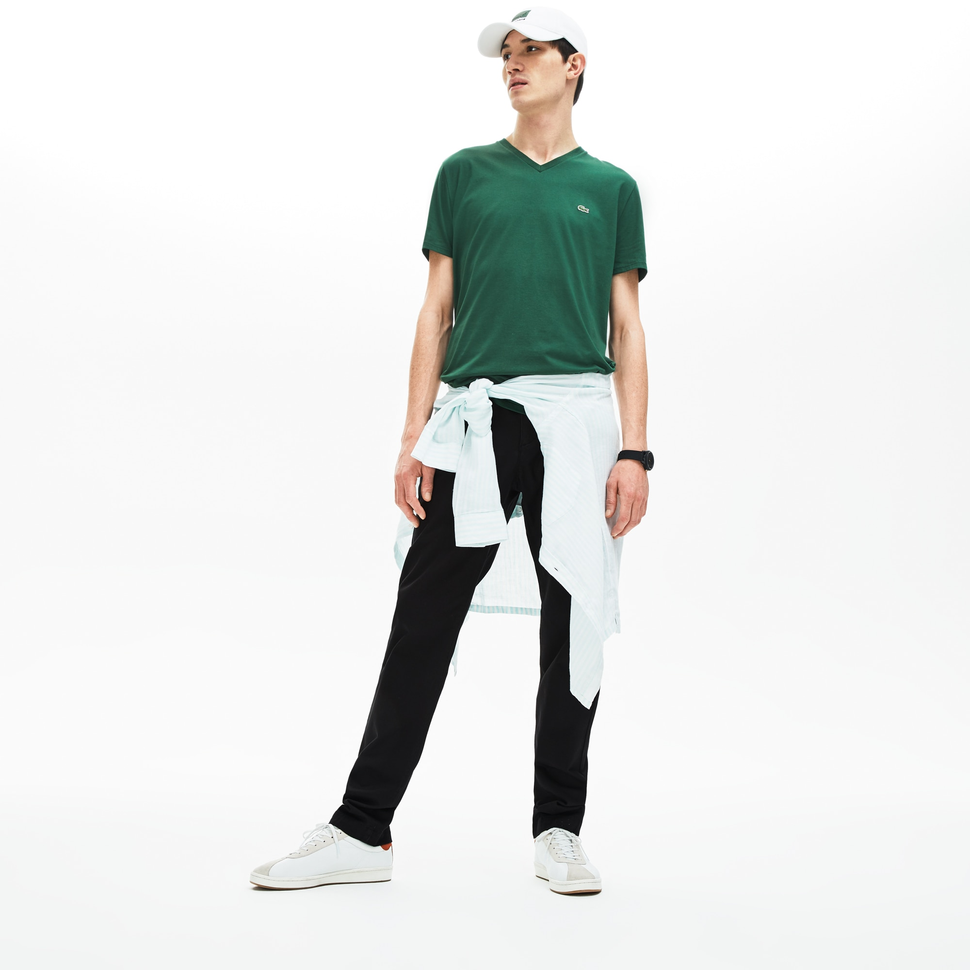 980338a8f3 Men's Regular Fit Cotton Gabardine Chino Pants