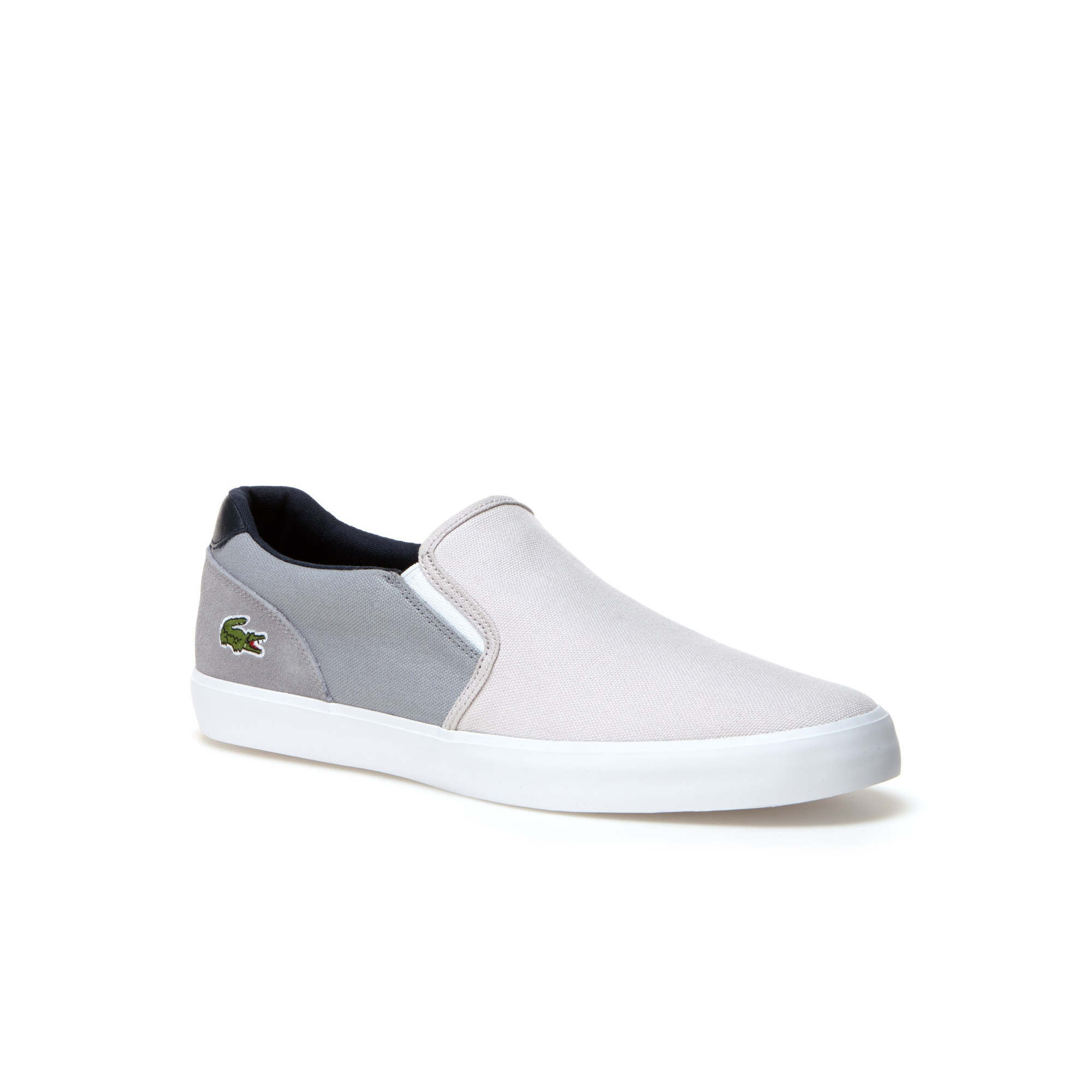 Men's Jouer Colorblock Canvas And Leather Slip-Ons