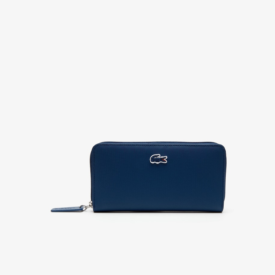Women's L.12.12 Concept Petit Piqué 12 Card Zip Wallet